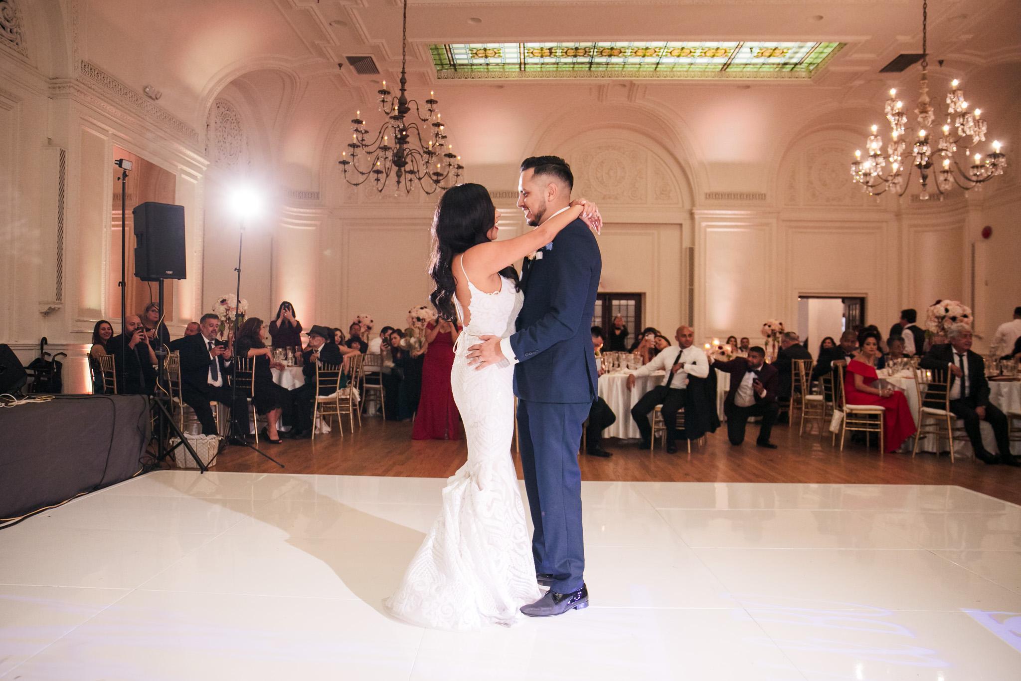 0802 Alexandria Ballroom Los Angeles County Wedding Photography