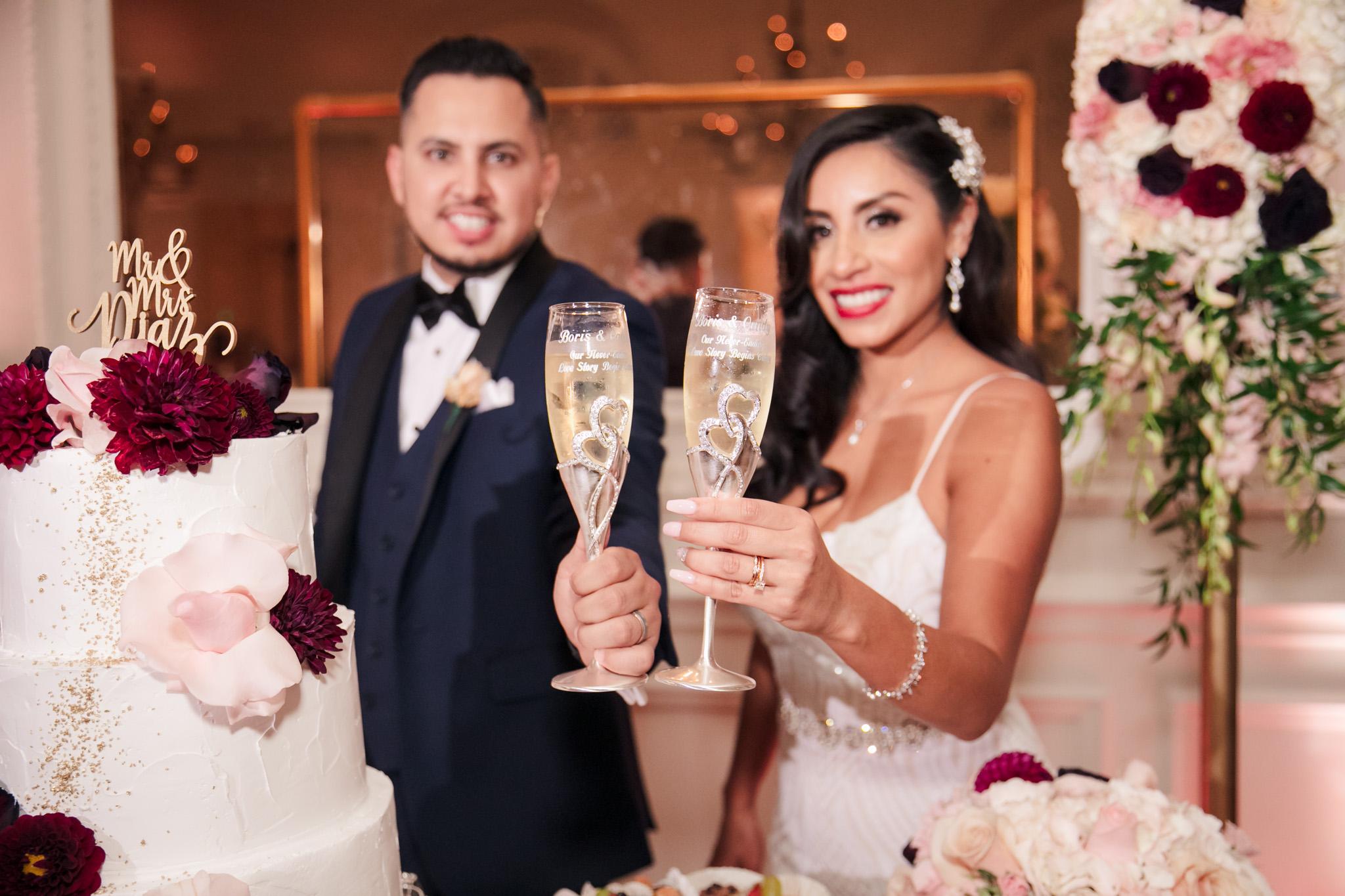 0816 CB Alexandria Ballroom Los Angeles County Wedding Photography