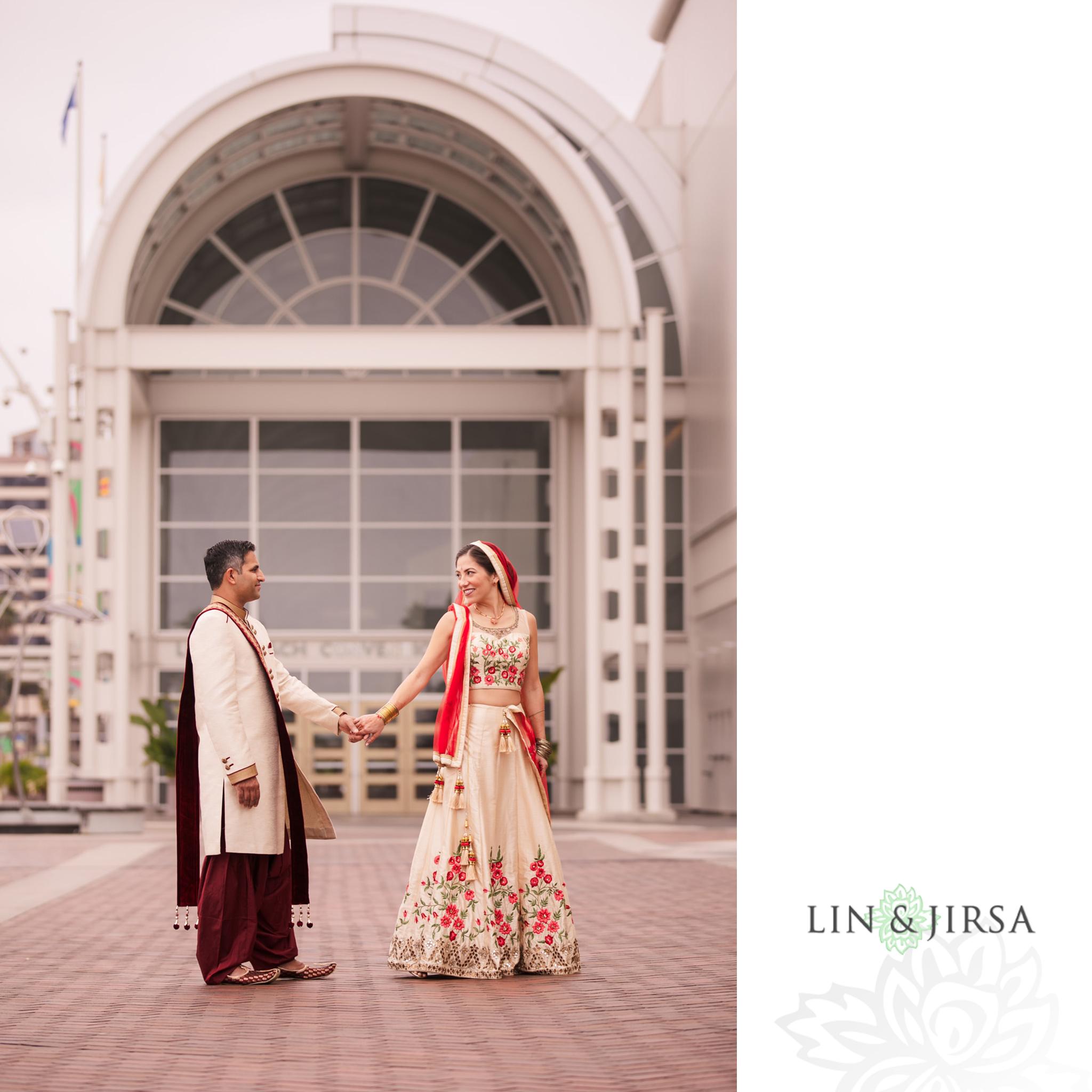 10 Hyatt Long Beach Indian Wedding Photography