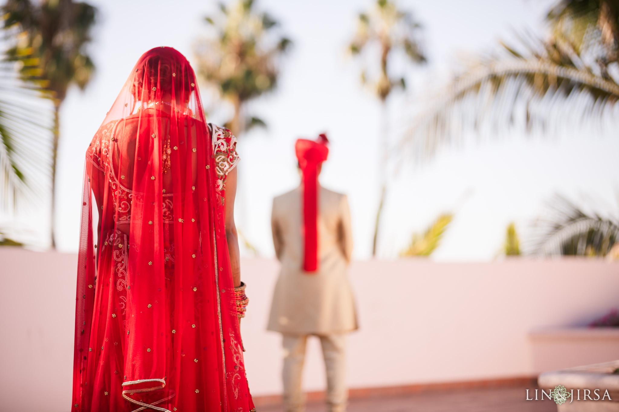 11 Hilton Santa Barbara Indian Wedding Photography