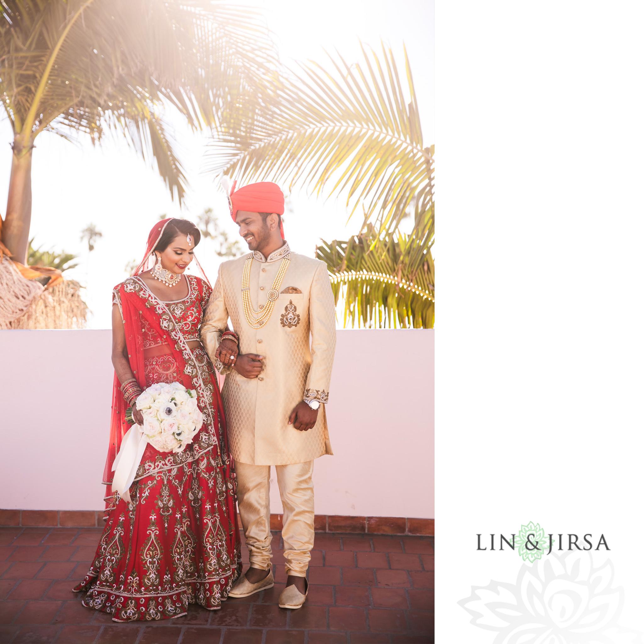13 Hilton Santa Barbara Indian Wedding Photography