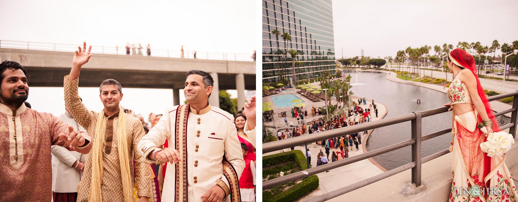 13 Hyatt Long Beach Indian Wedding Photography