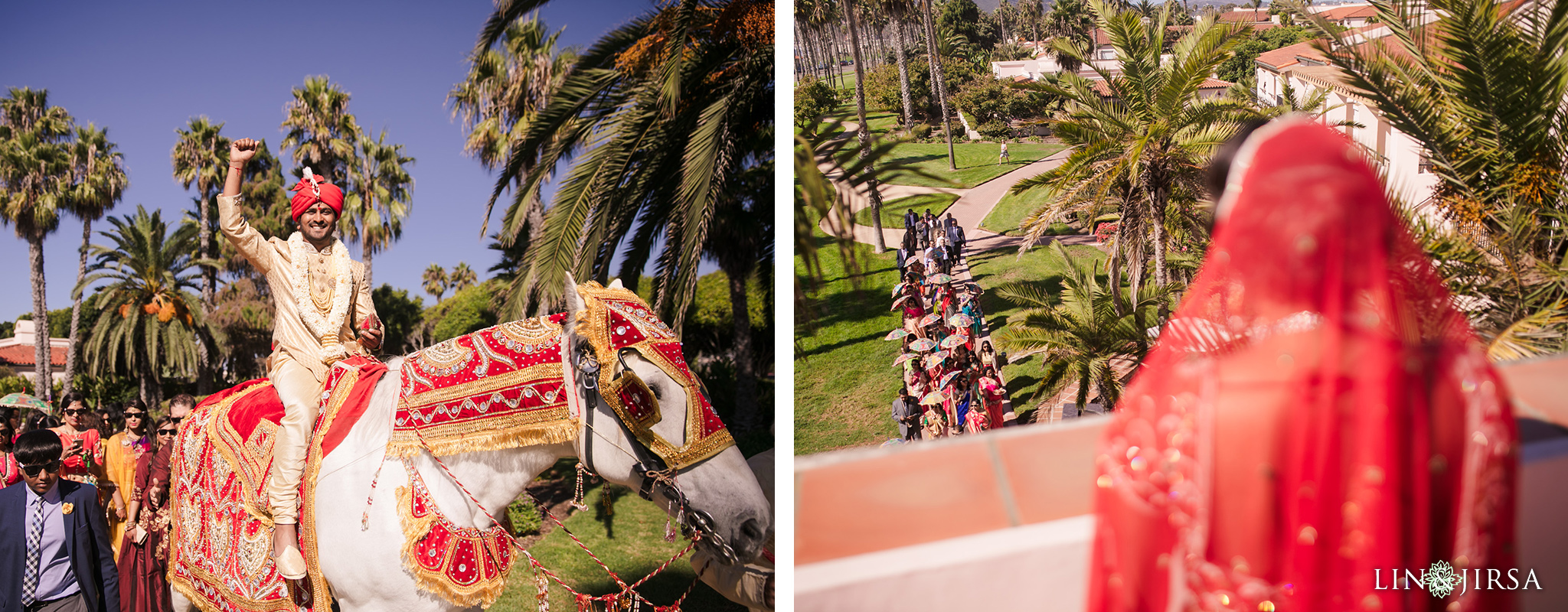 15 Hilton Santa Barbara Indian Wedding Photography