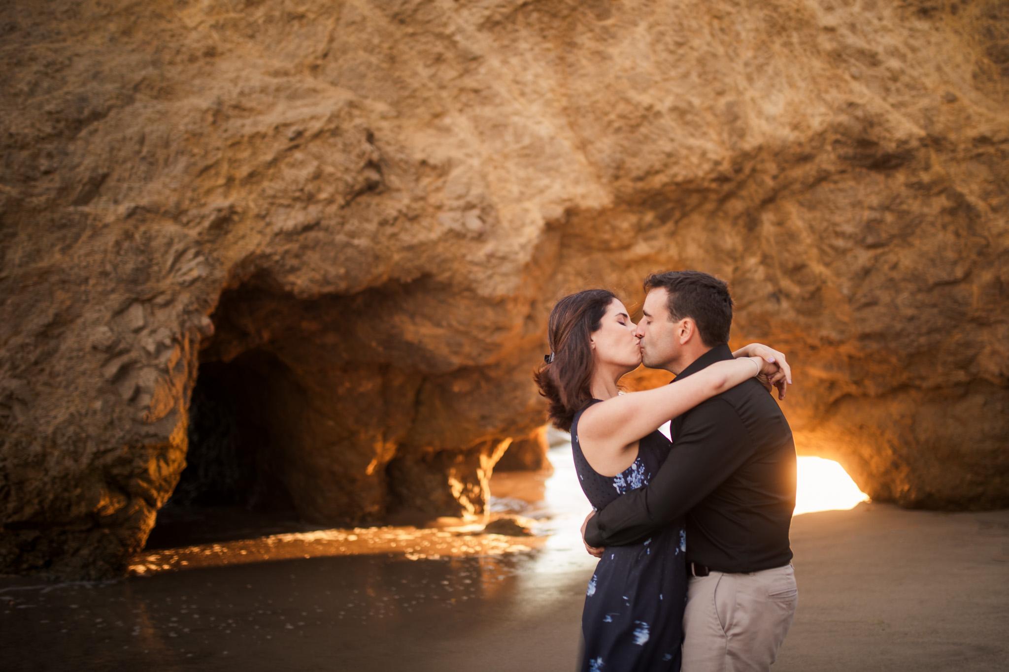 15 el matador state beach malibu engagement photography