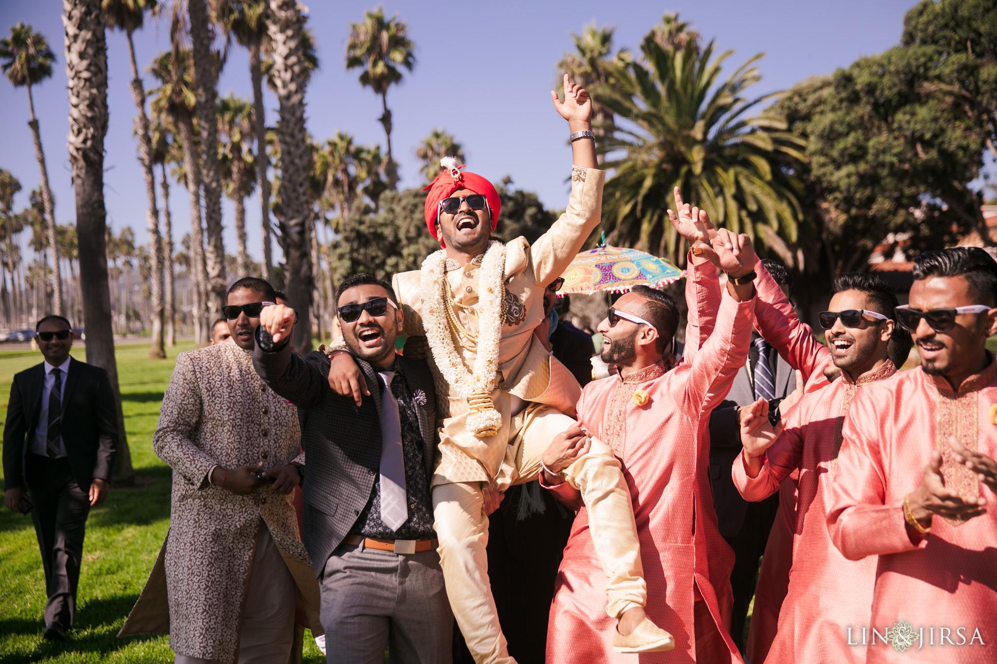 16 Hilton Santa Barbara Indian Wedding Photography