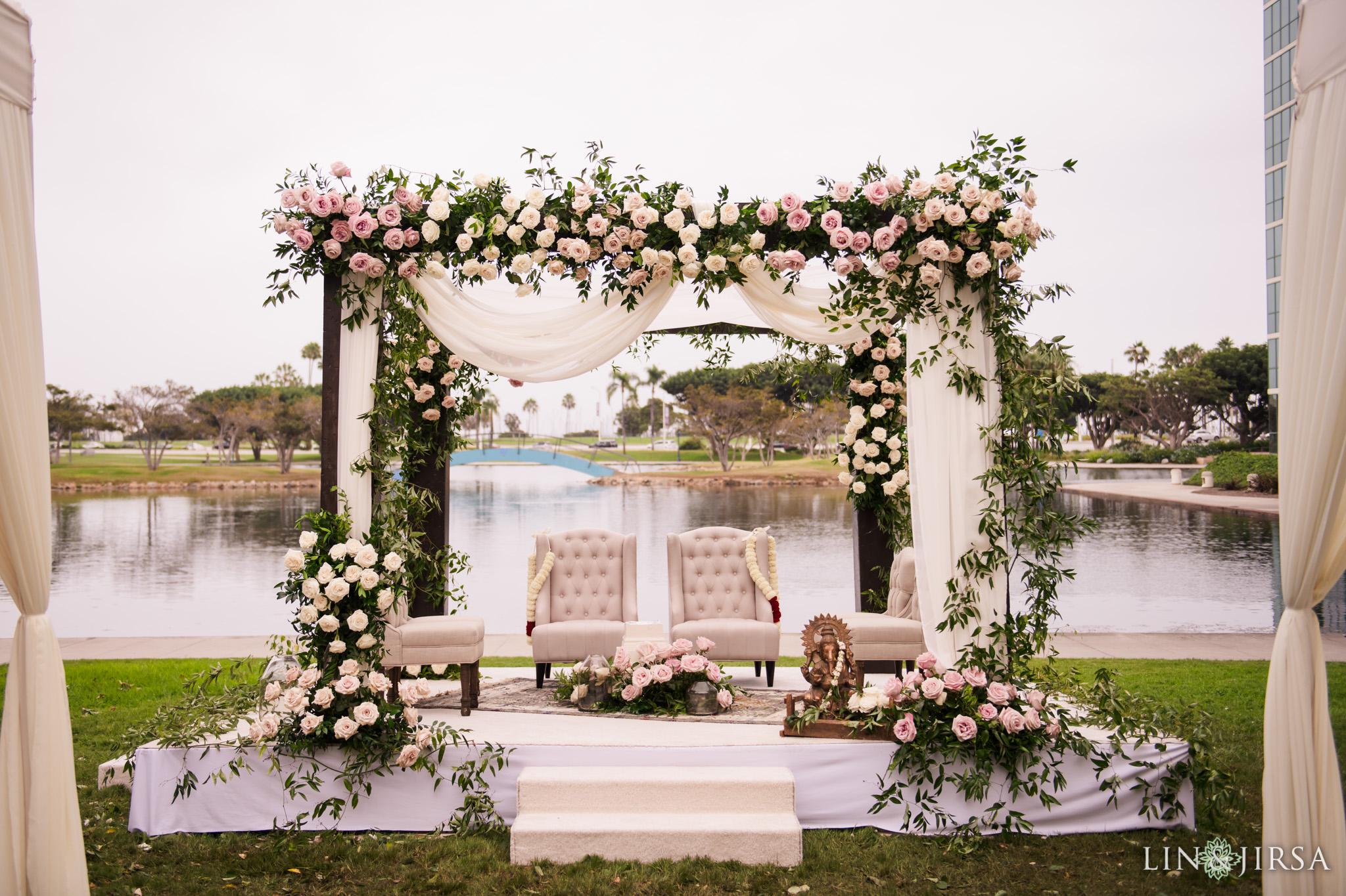 16 Hyatt Long Beach Indian Wedding Photography