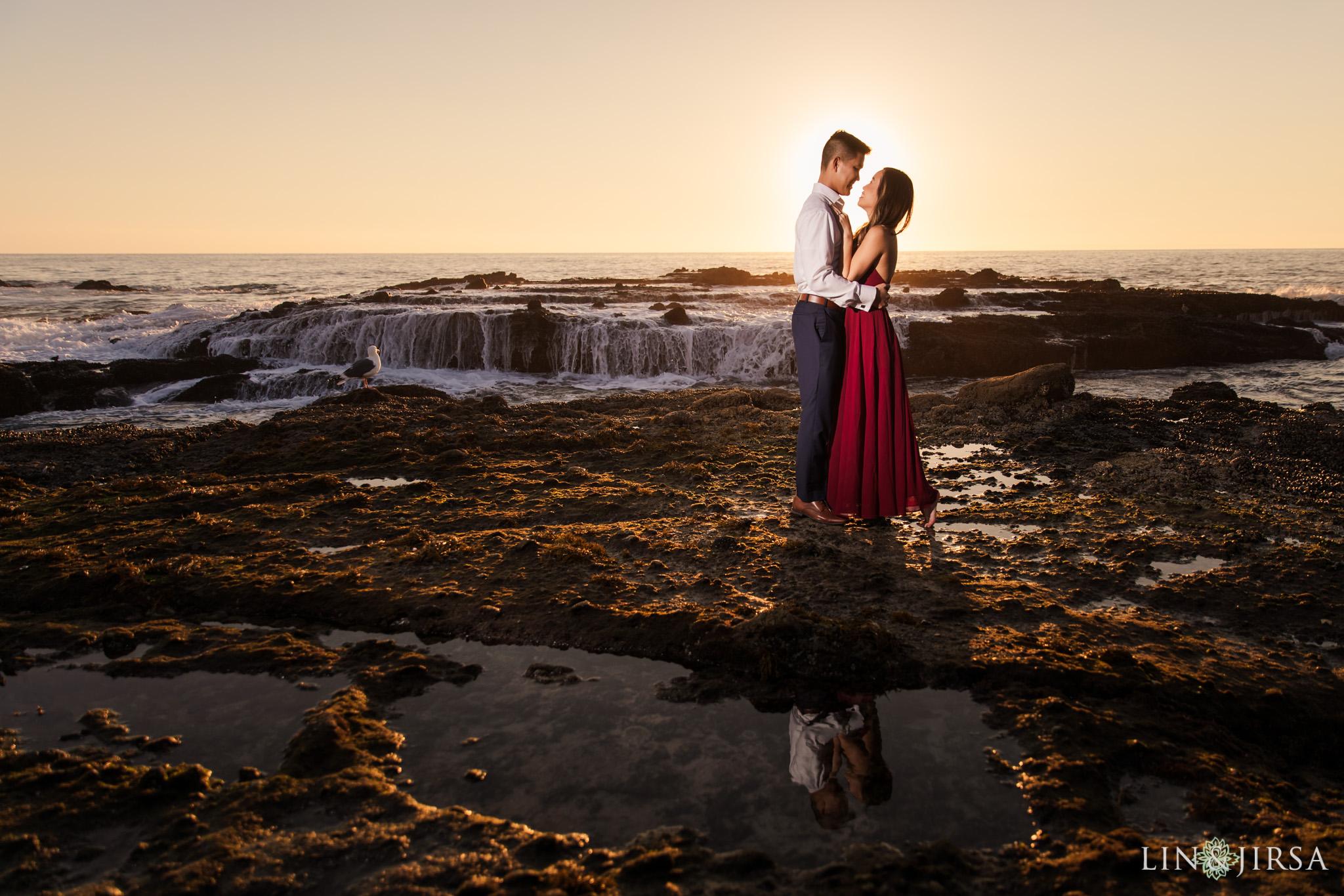 17 victoria beach orange county engagement photography