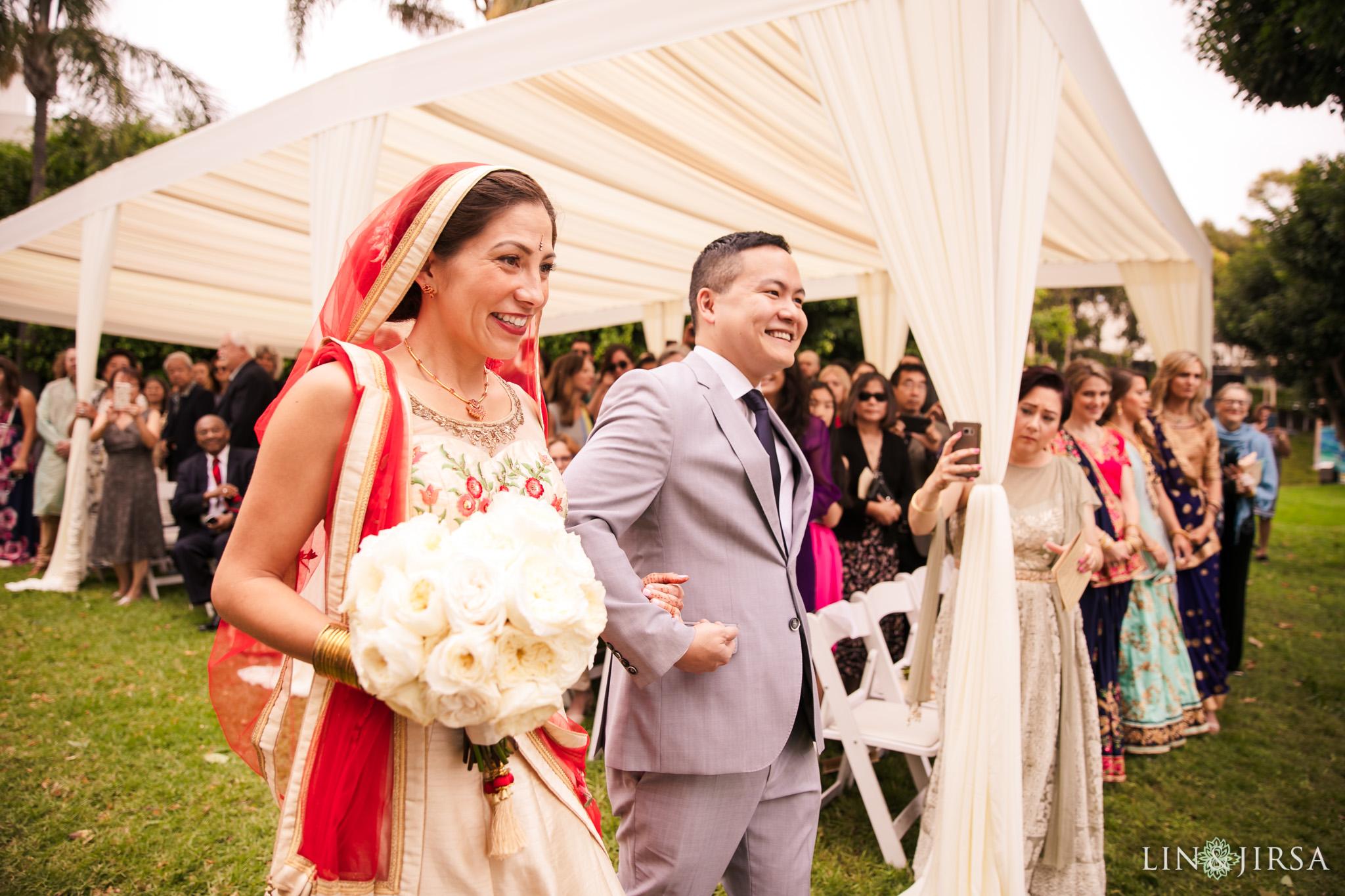 18 Hyatt Long Beach Indian Wedding Photography