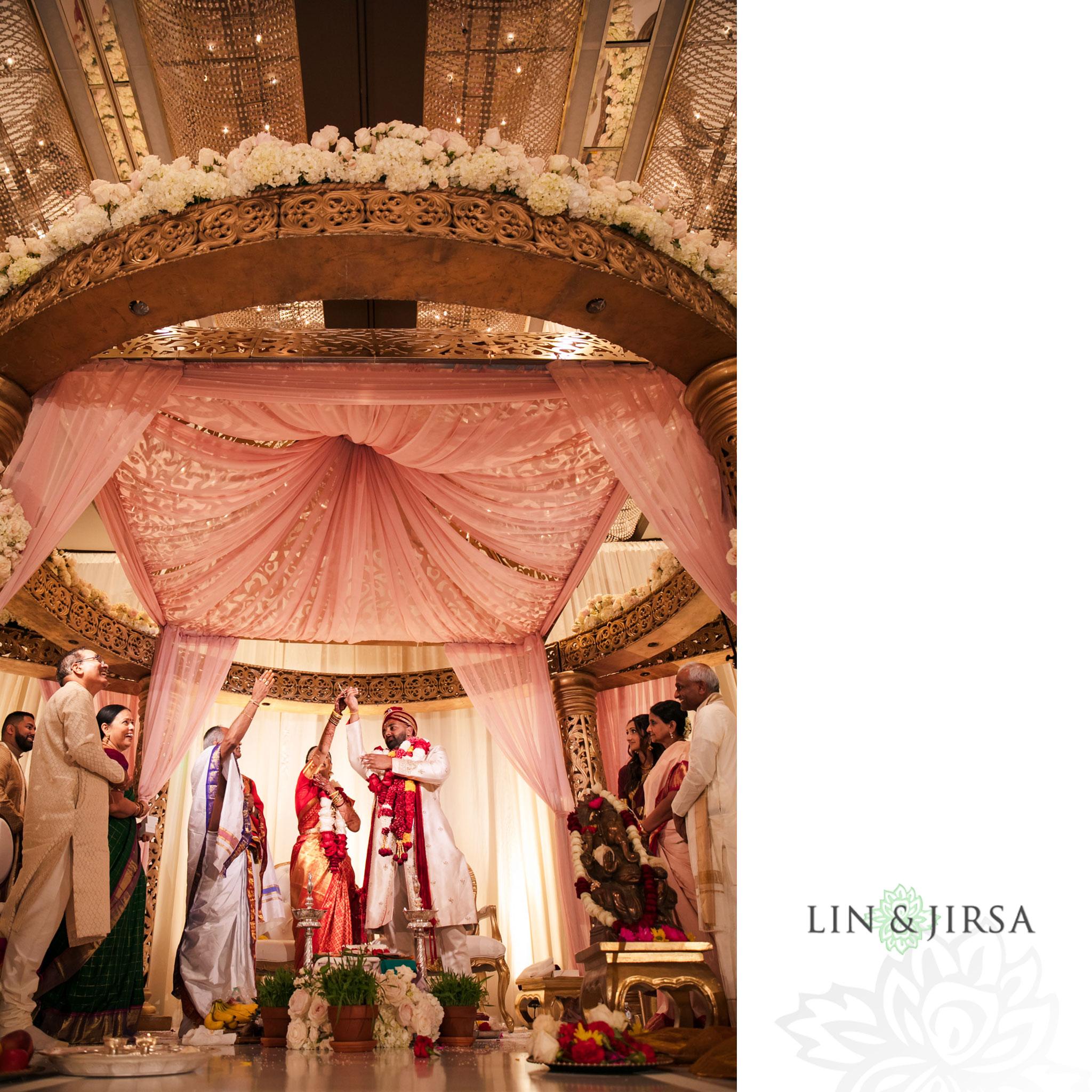 19 long beach hyatt south indian wedding photography