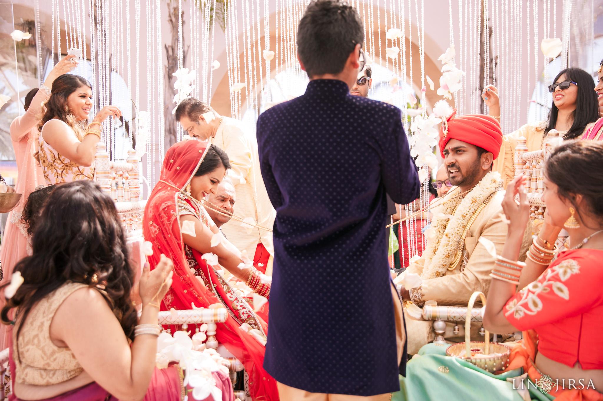 20 Hilton Santa Barbara Indian Wedding Photography
