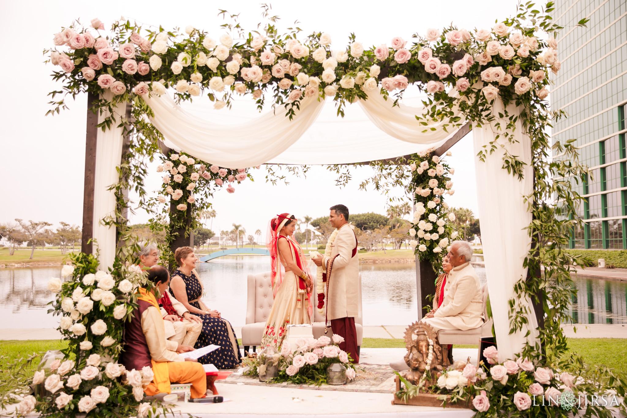 20 Hyatt Long Beach Indian Wedding Photography