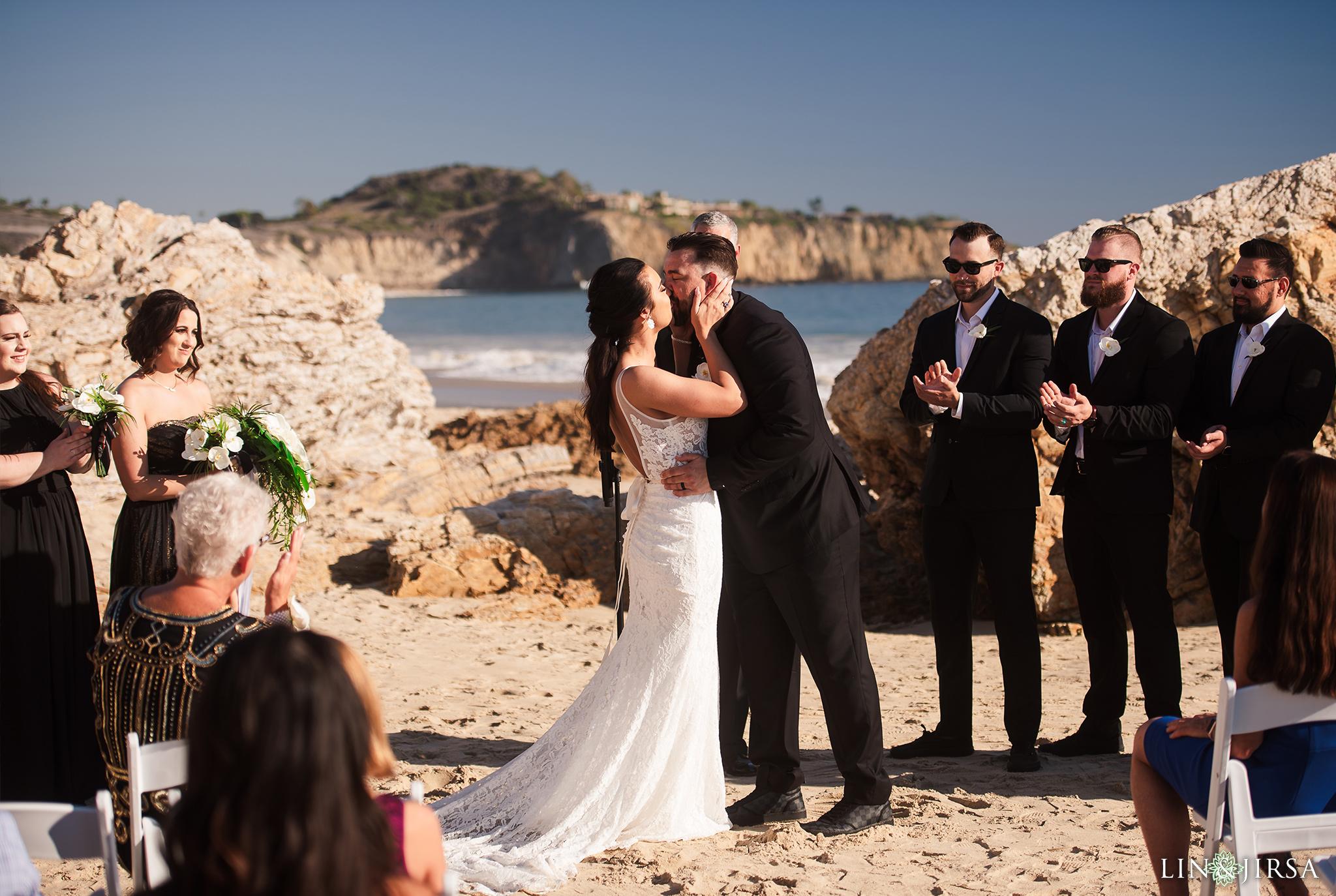 21 Crystal Cove State Park Laguna Beach Western Wedding Photography
