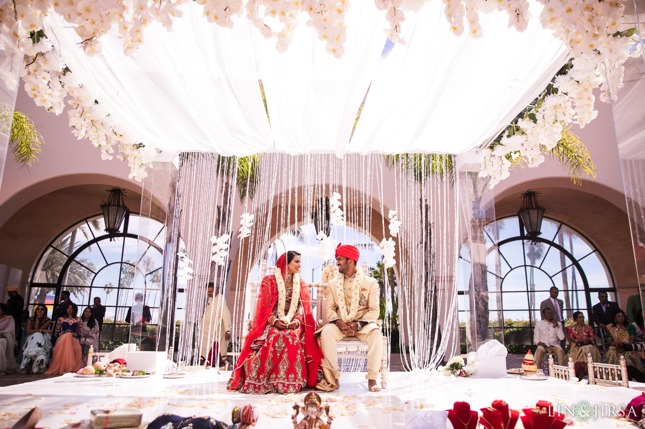 23 Hilton Santa Barbara Indian Wedding Photography