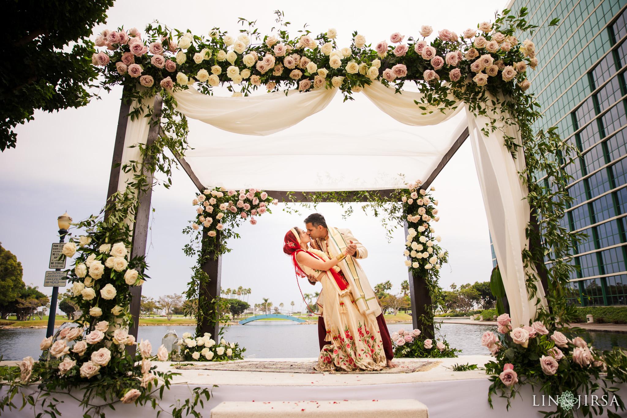 25 Hyatt Long Beach Indian Wedding Photography