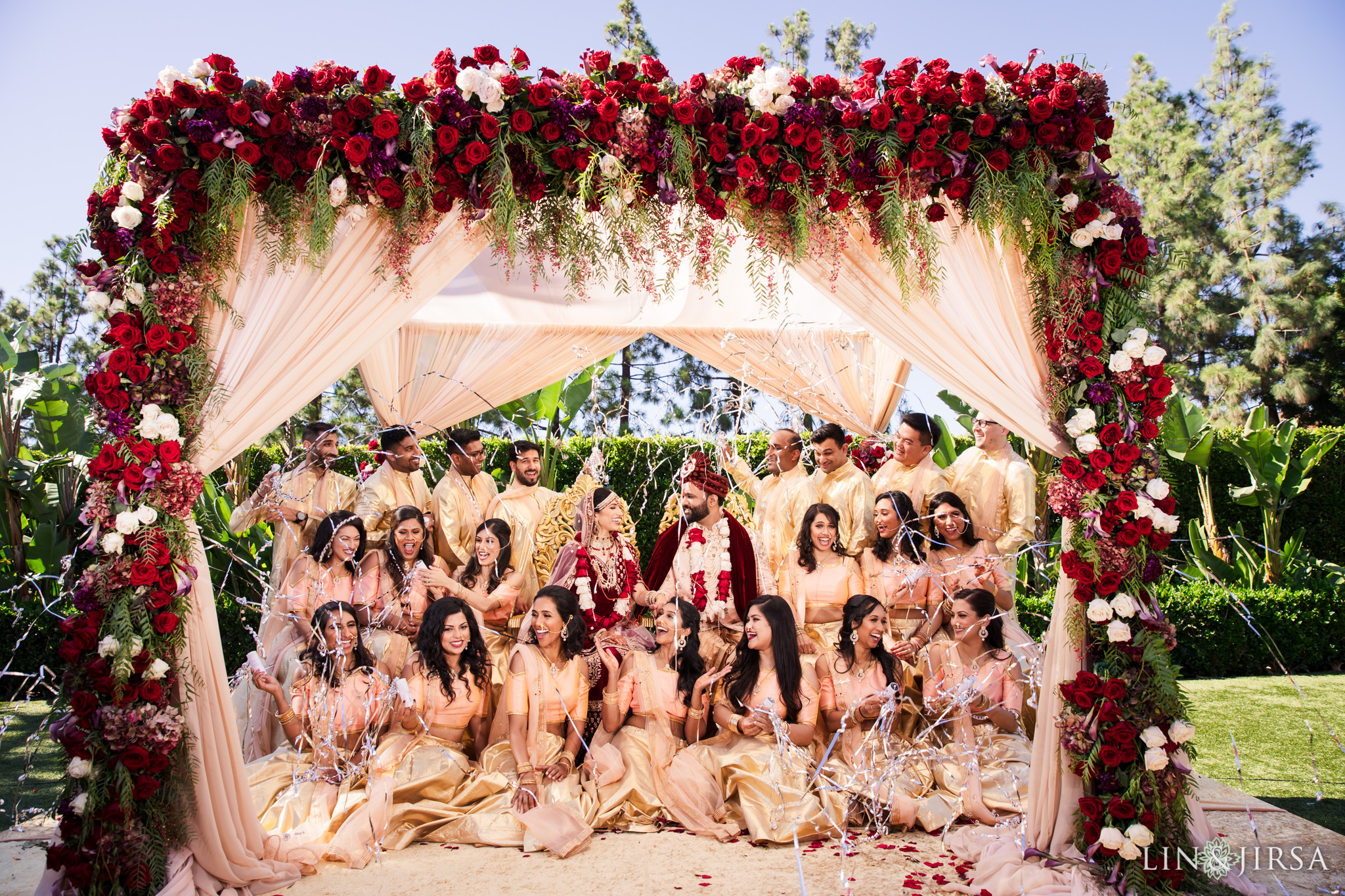 34 hotel irvine orange county indian wedding photography