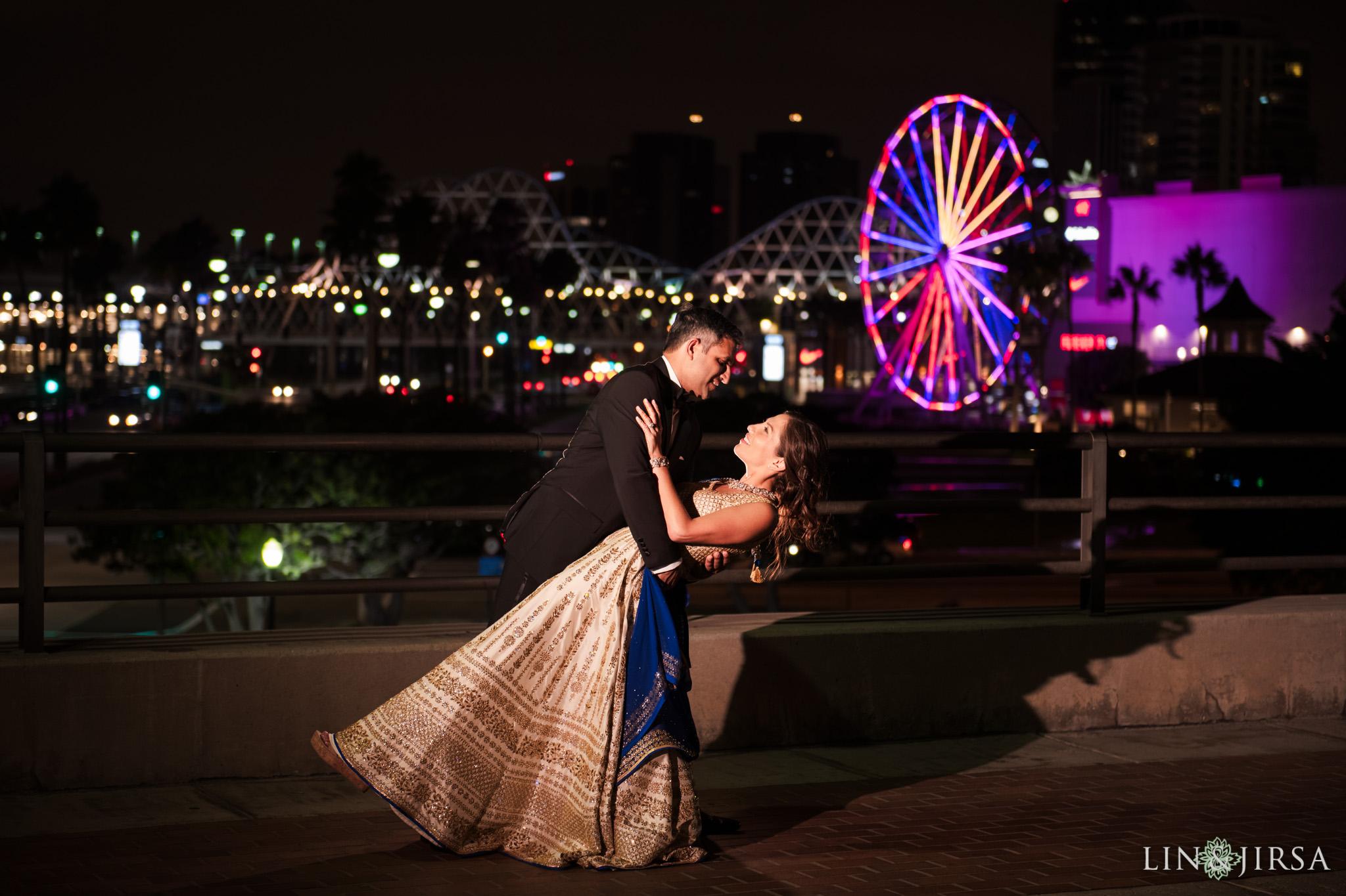 43 Hyatt Long Beach Indian Wedding Photography