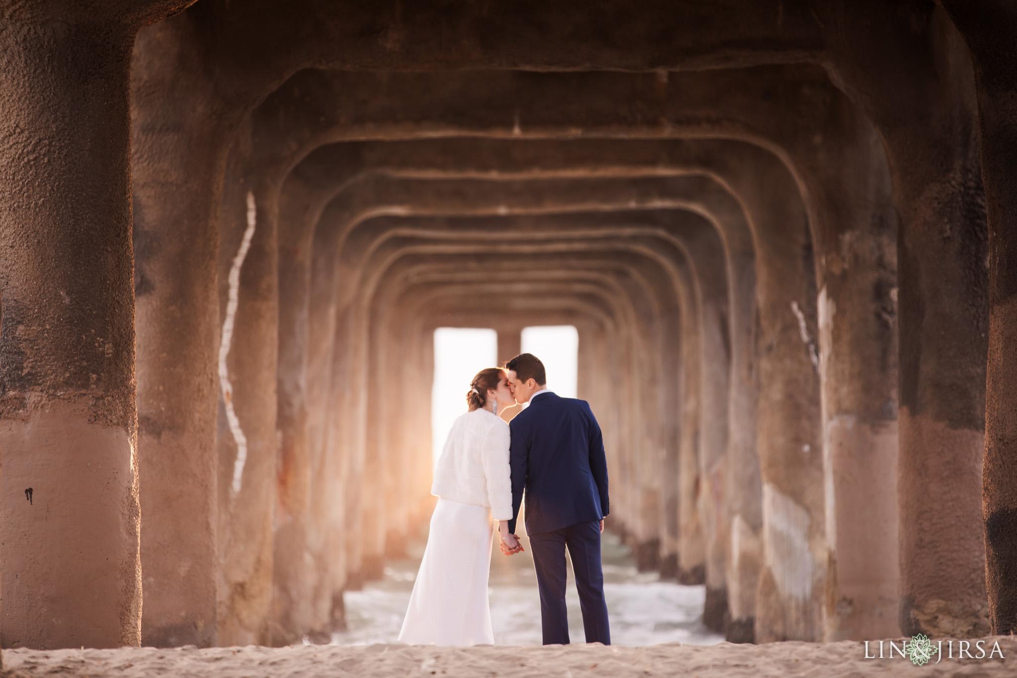 47 manhattan beach ocean beaches wedding photography