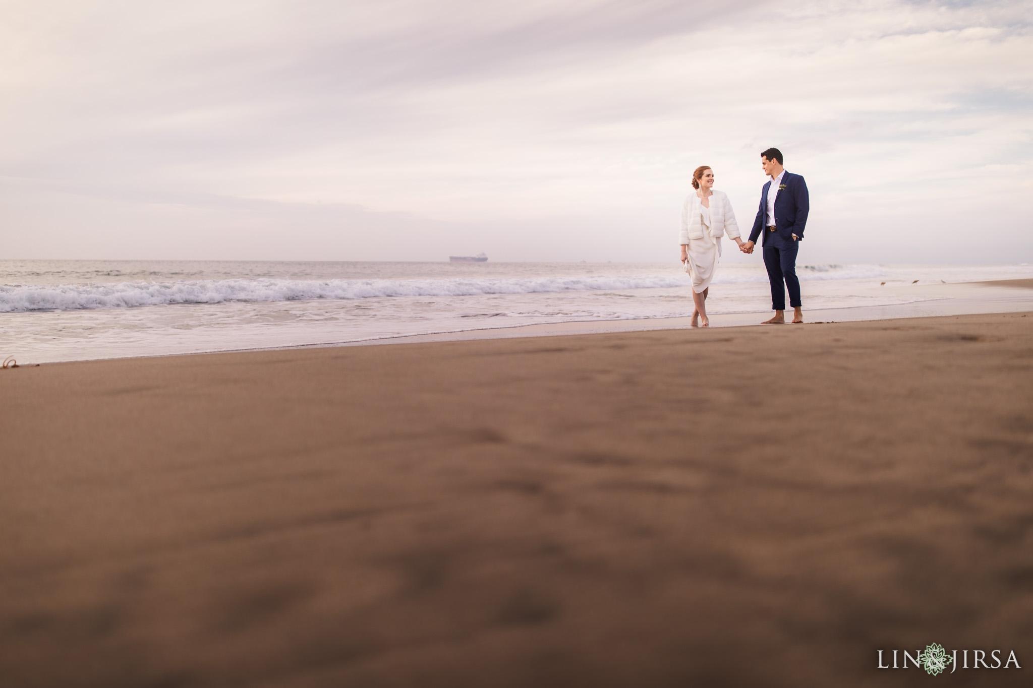 48 manhattan beach ocean beaches wedding photography