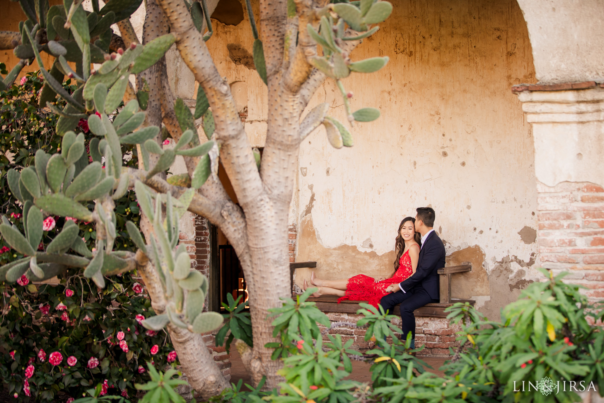 9 mission san juan capistrano engagement photography