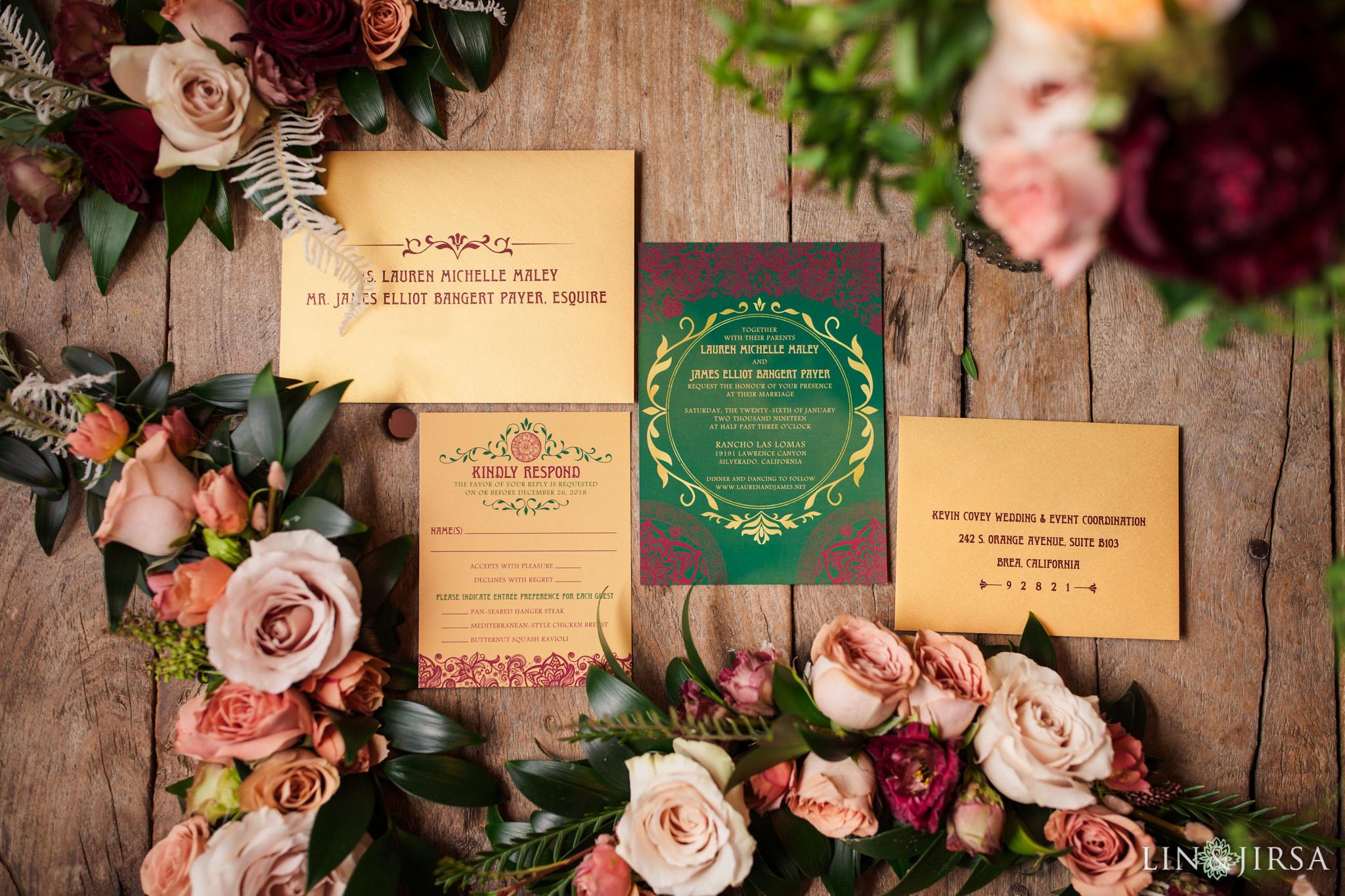 02 Rancho Las Lomas Silverado Wedding Photography