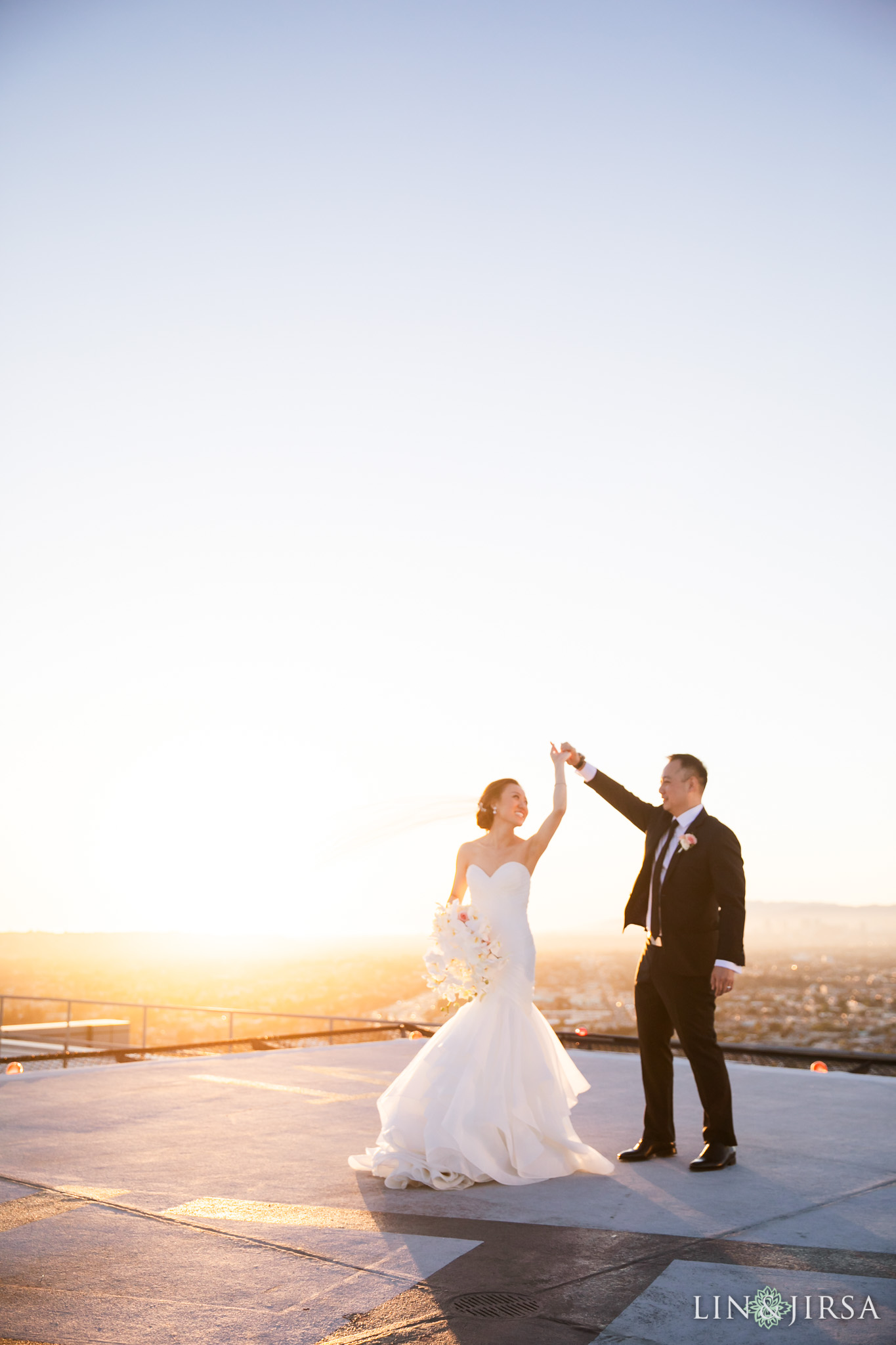 0296 PE South Park Center Los Angeles Wedding Photography
