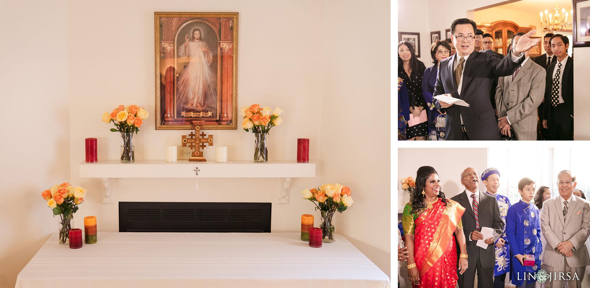 06 St Irenaeus Catholic Church Cypress Wedding Photography