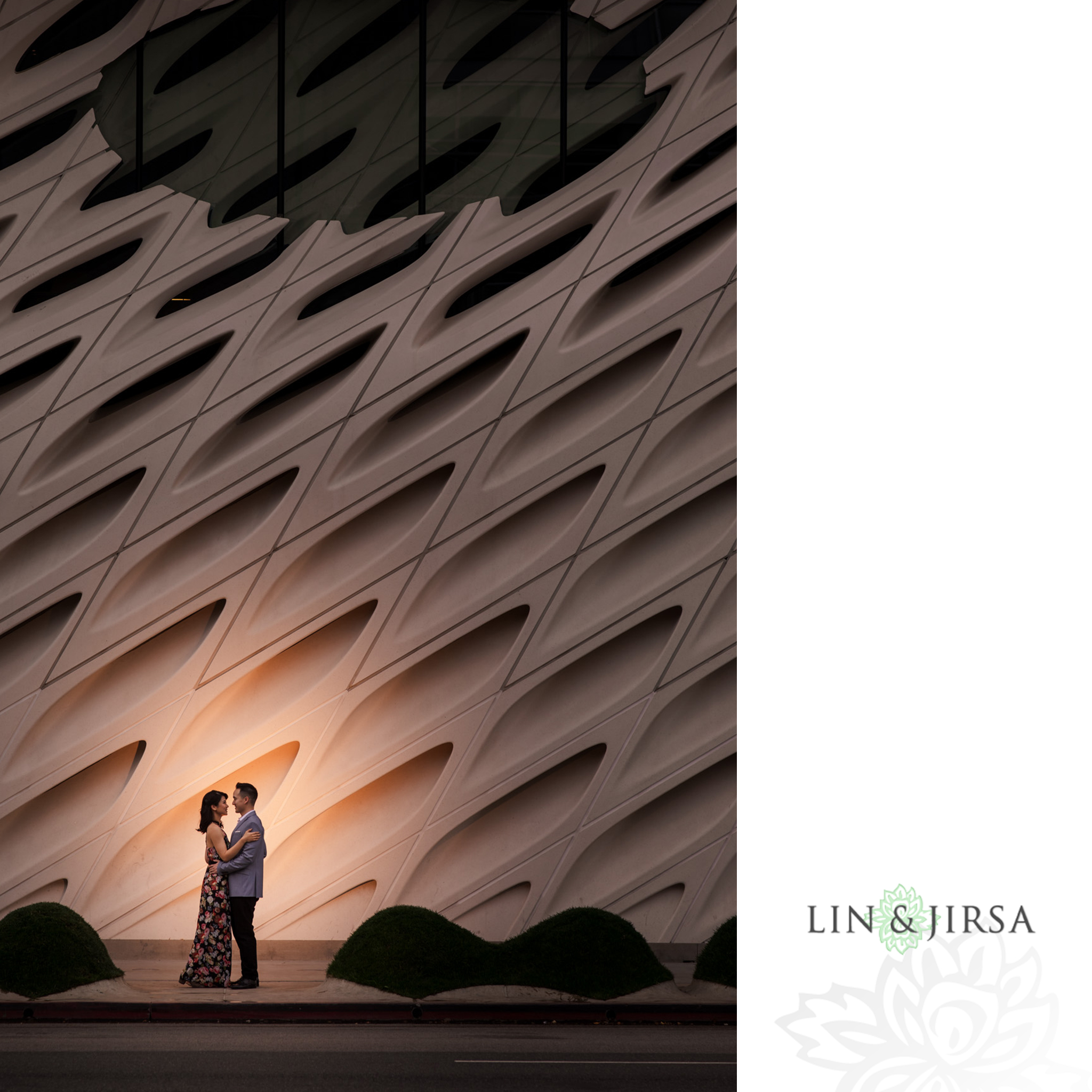 06 broad museum downtown los angeles engagement photography
