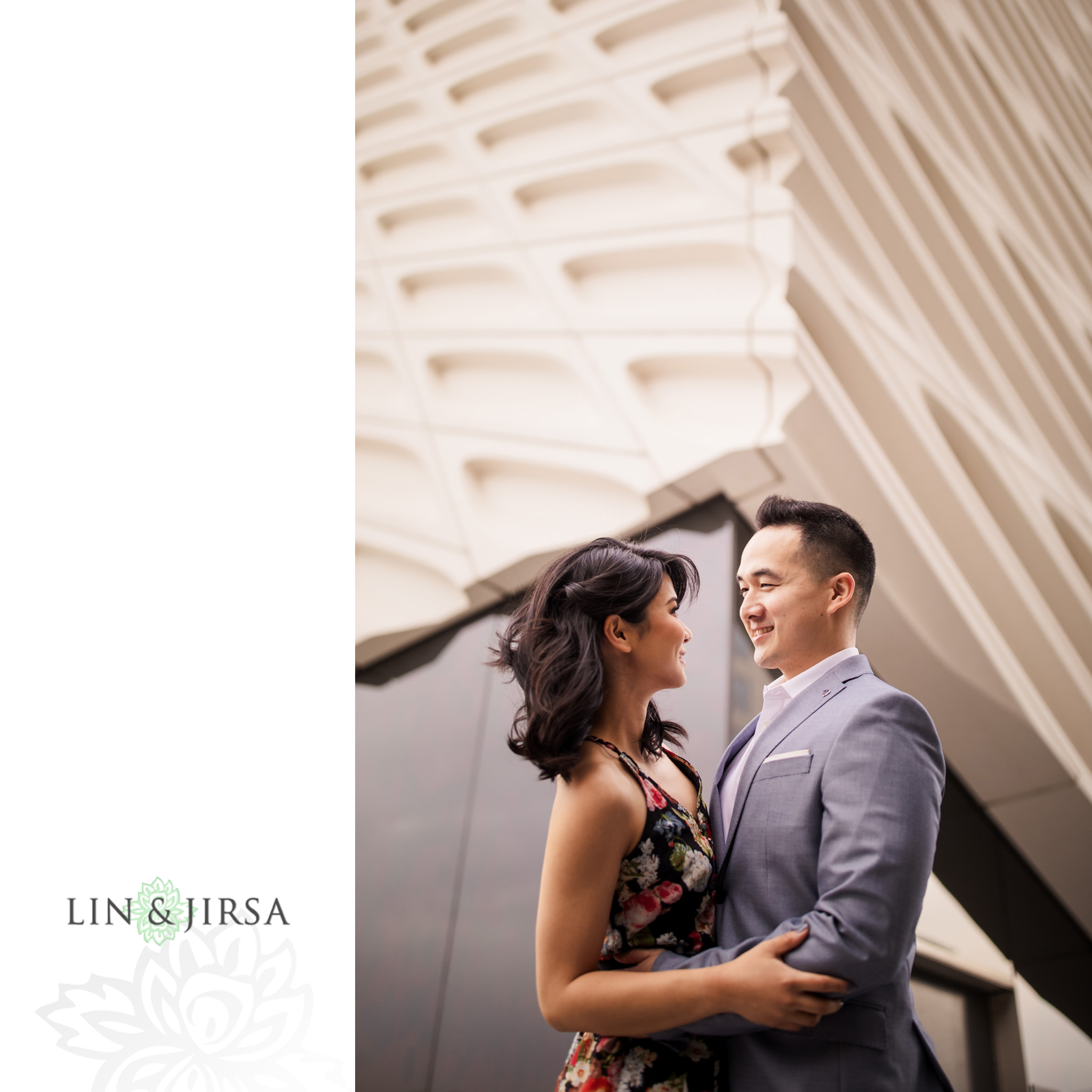 07 broad museum downtown los angeles engagement photography