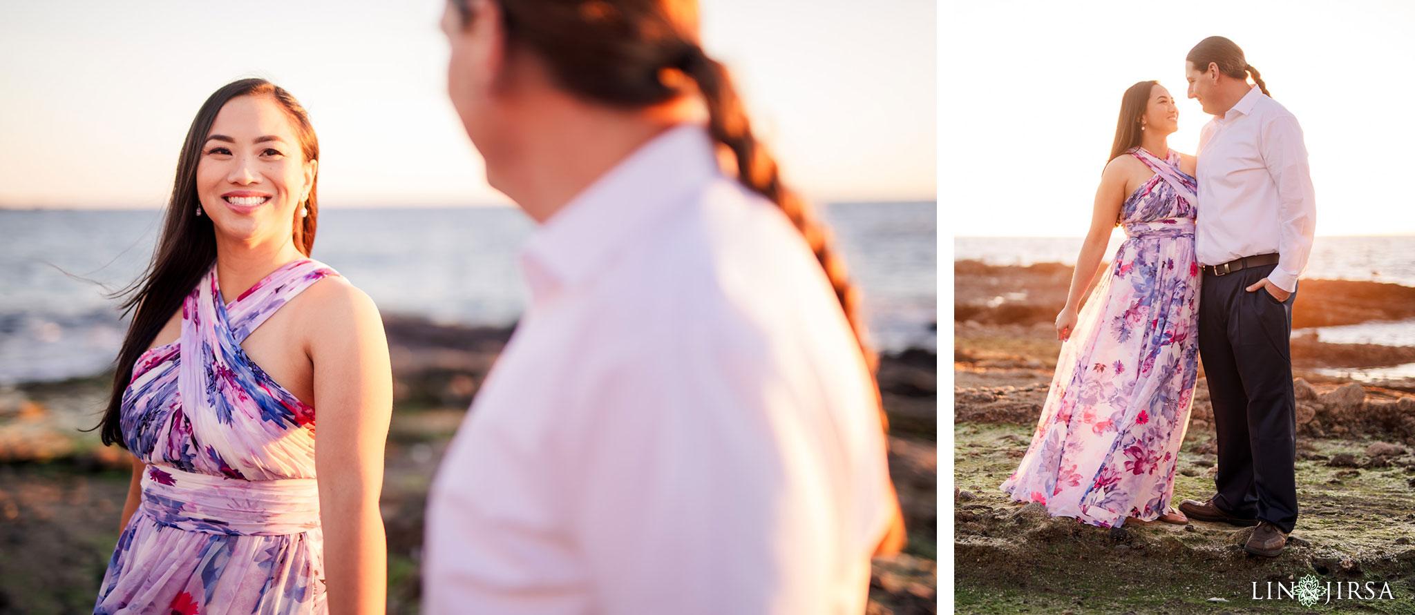 07 laguna beach sunset engagement photographer