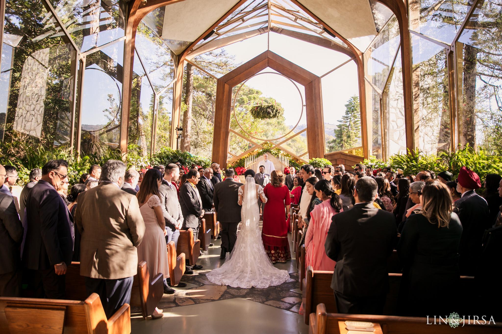 08 Wayfarers Chapel Palos Verdes Indian Wedding Photography