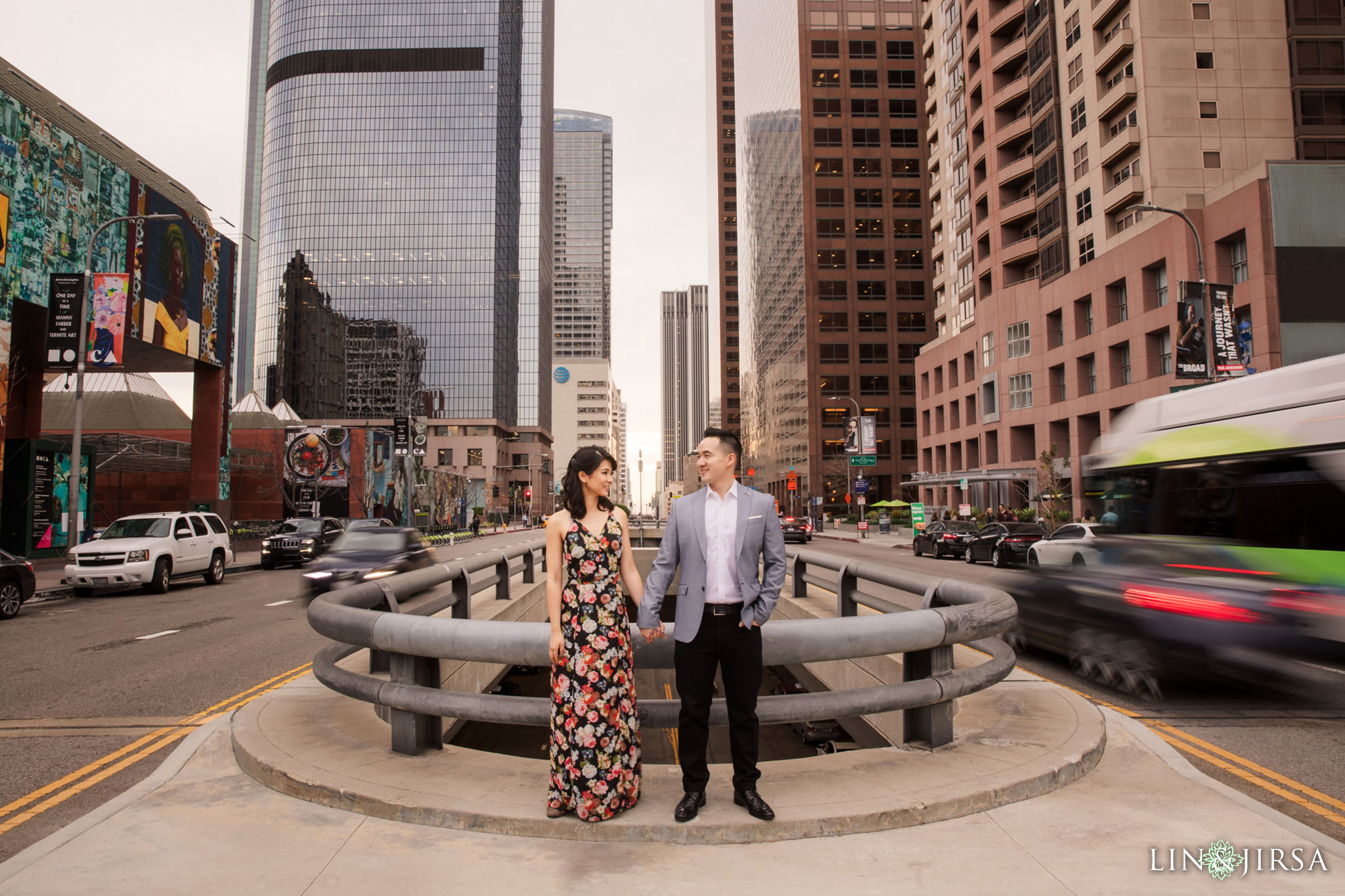 08 downtown los angeles engagement photography