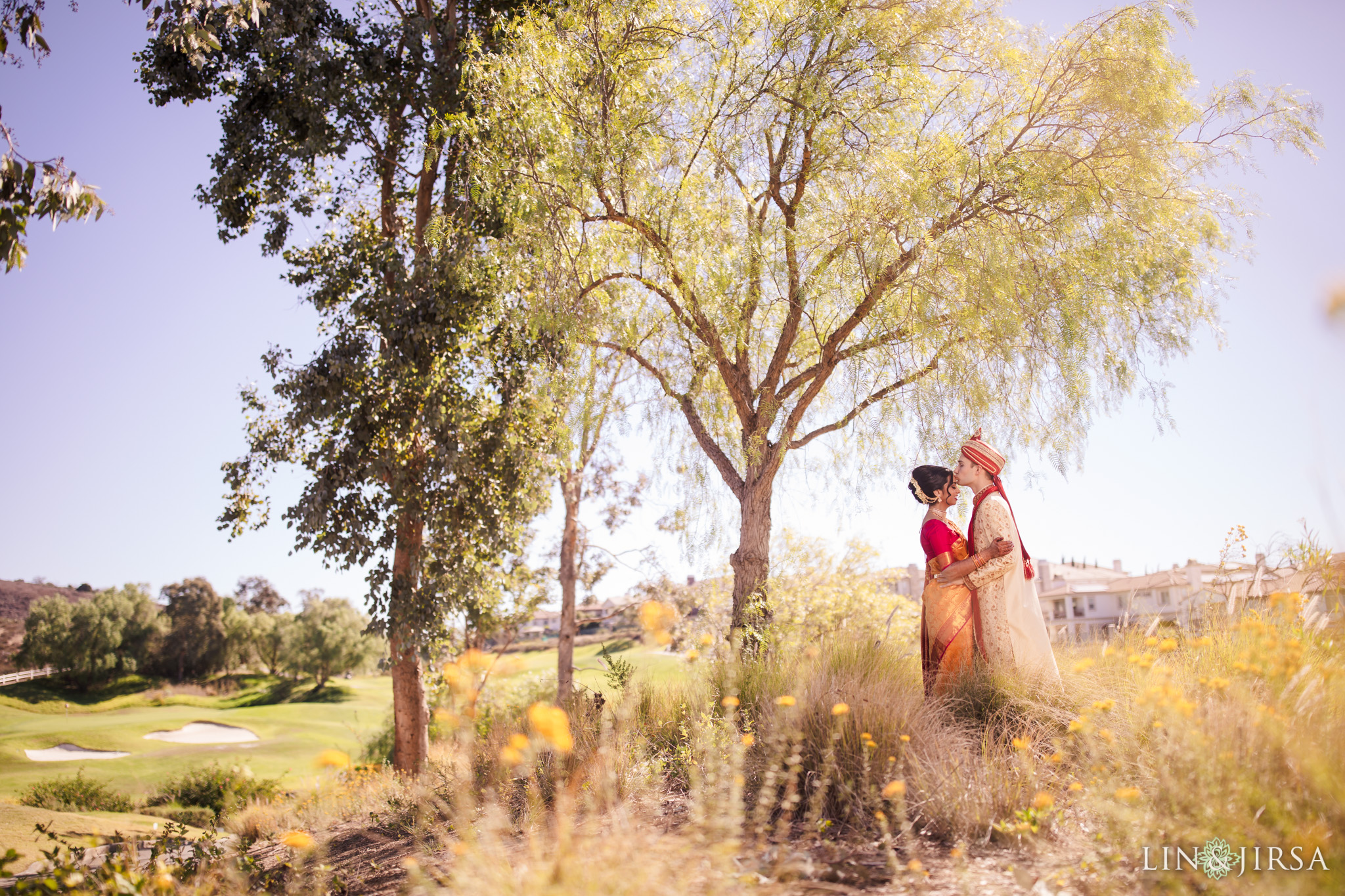 Black Gold Golf Course Yorba Linda Indian Wedding Photography