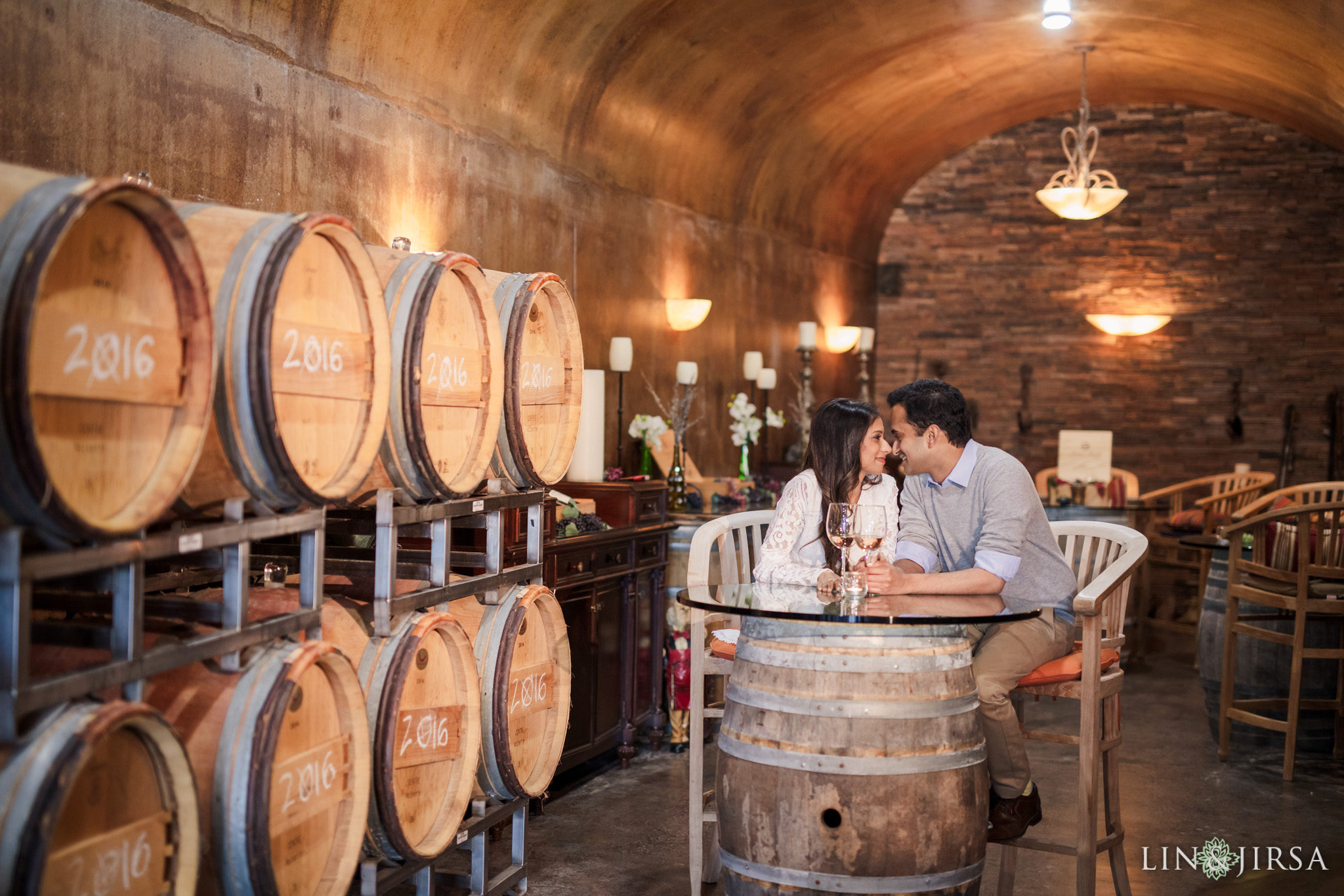 09 Newport Beach Vineyards and Winery Engagement Photography