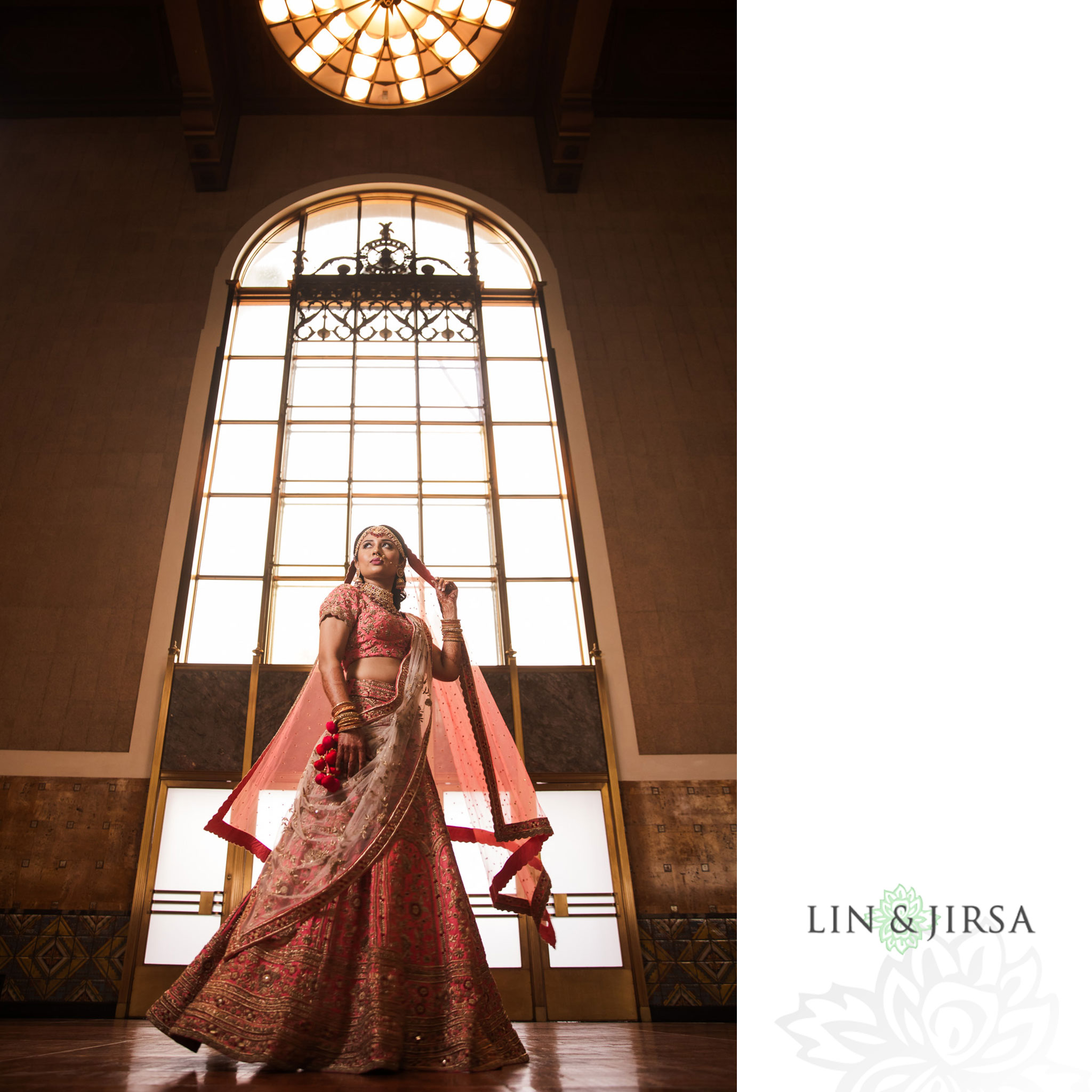 09 Union Station Los Angeles Indian Wedding Photography