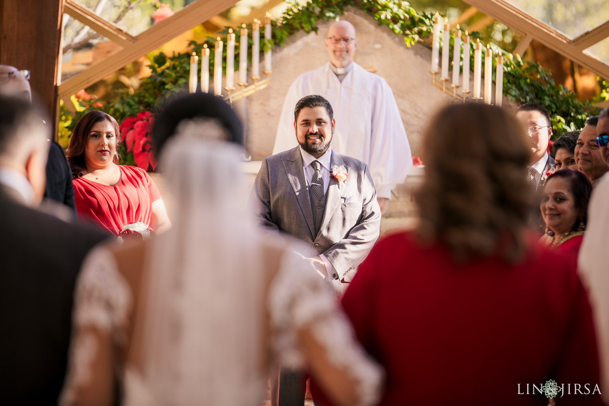 09 Wayfarers Chapel Palos Verdes Indian Wedding Photography