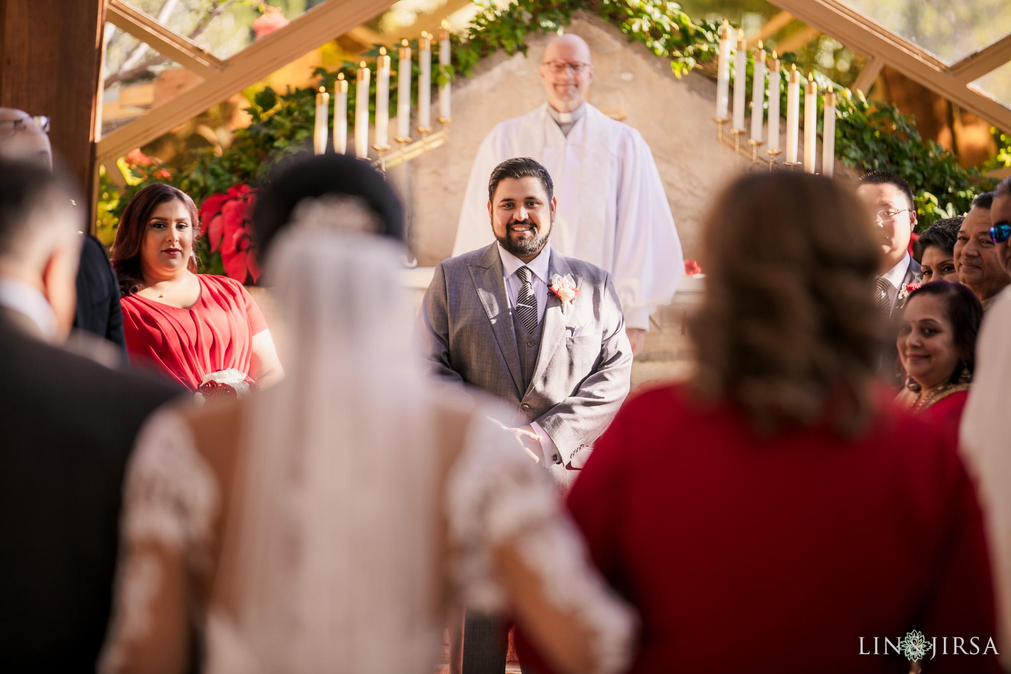 09 Wayfarers Chapel Palos Verdes Indian Wedding Photography