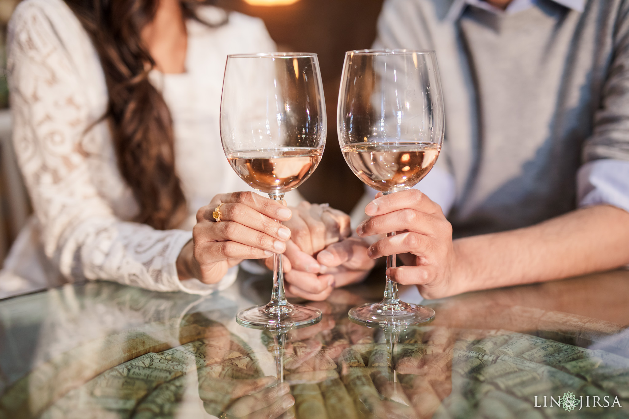 10 Newport Beach Vineyards and Winery Engagement Photography