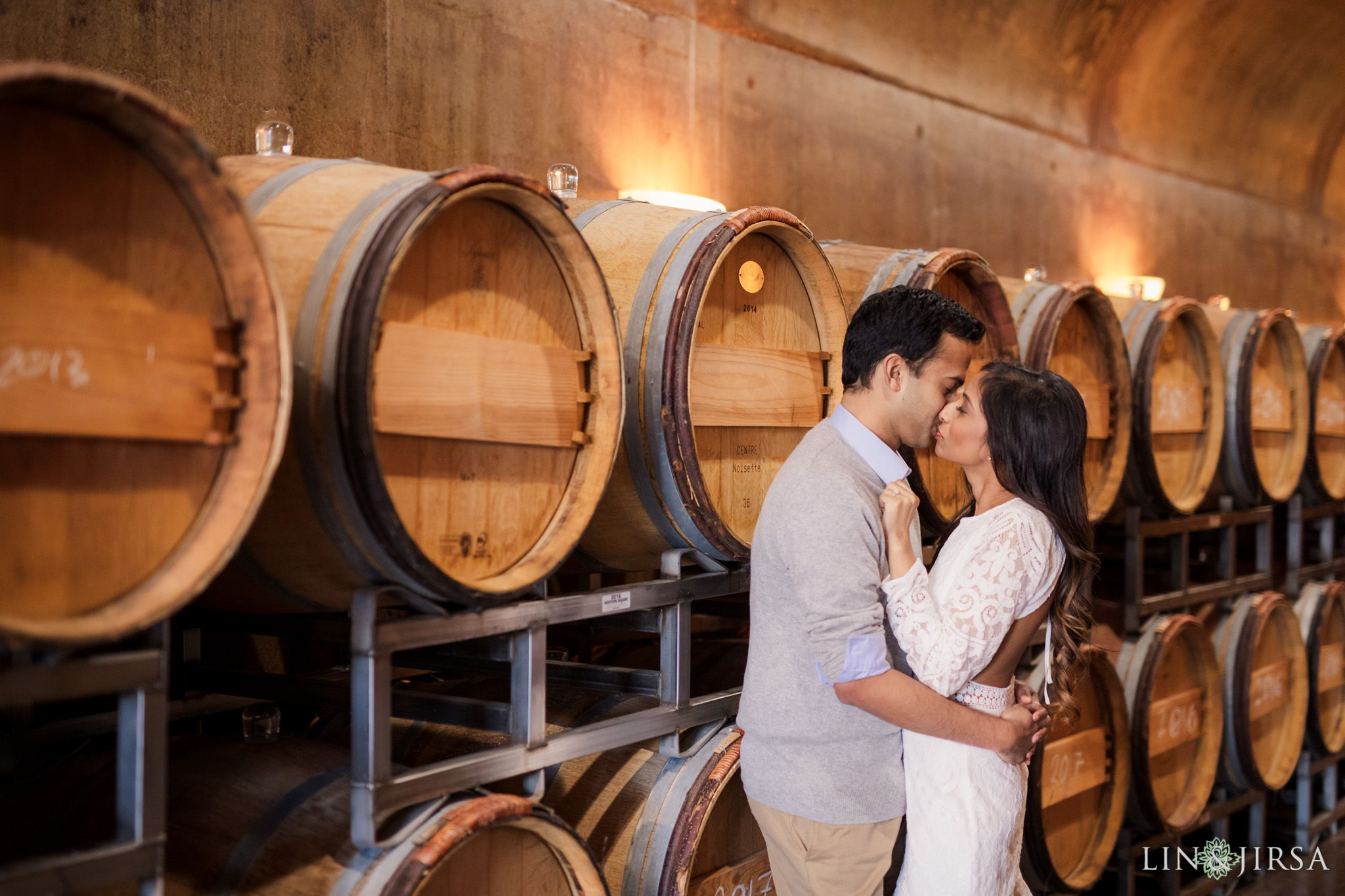 11 Newport Beach Vineyards and Winery Engagement Photography