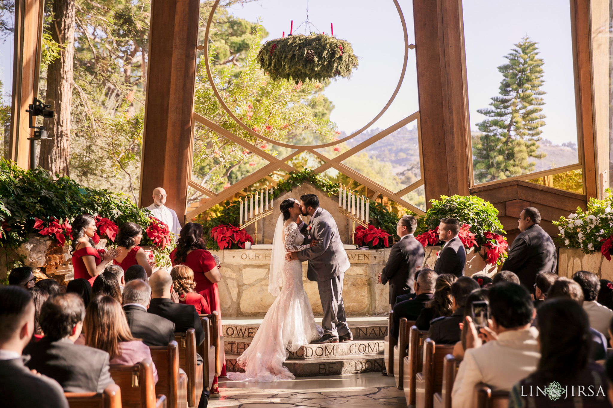 11 Wayfarers Chapel Palos Verdes Indian Wedding Photography