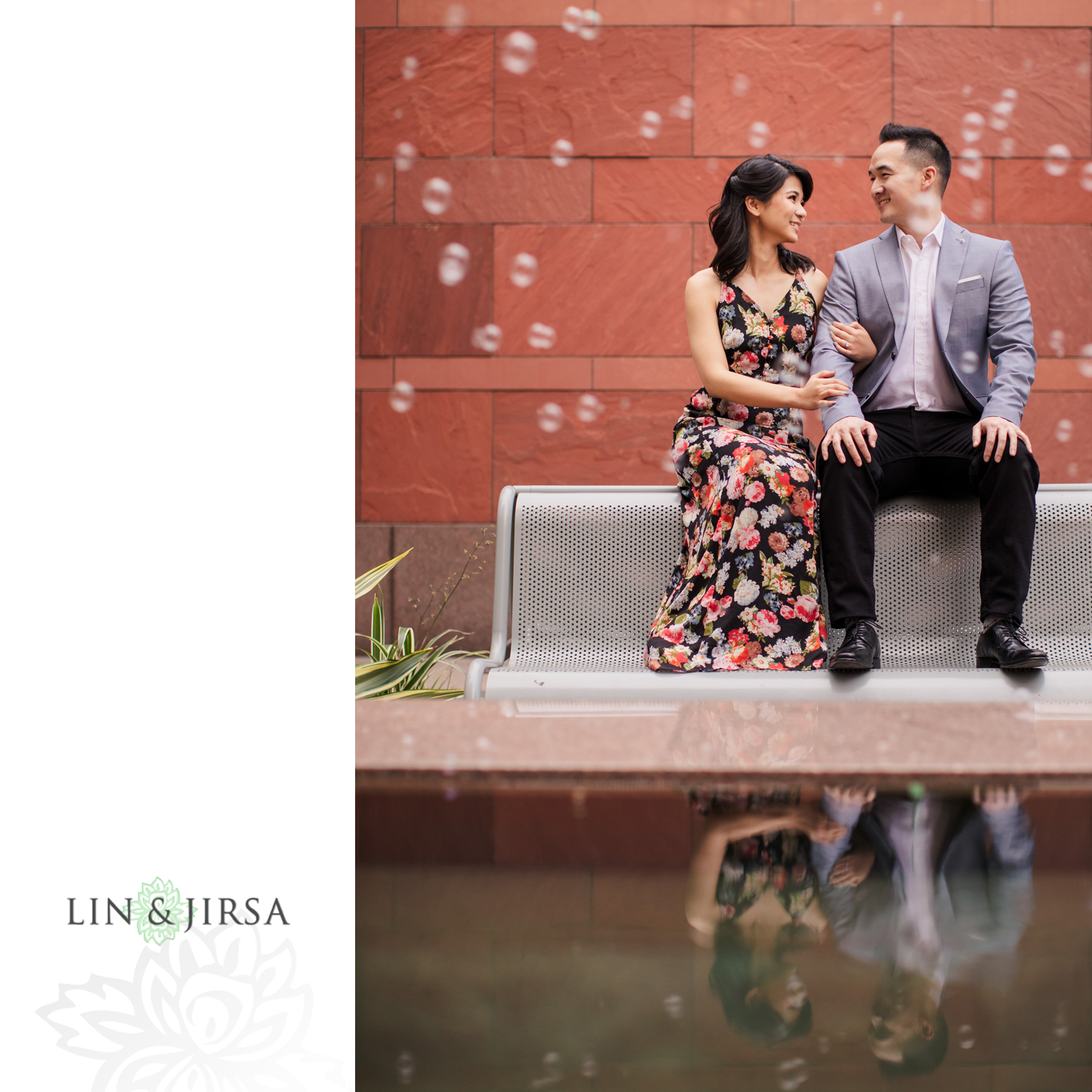 12 MOCA downtown los angeles engagement photography