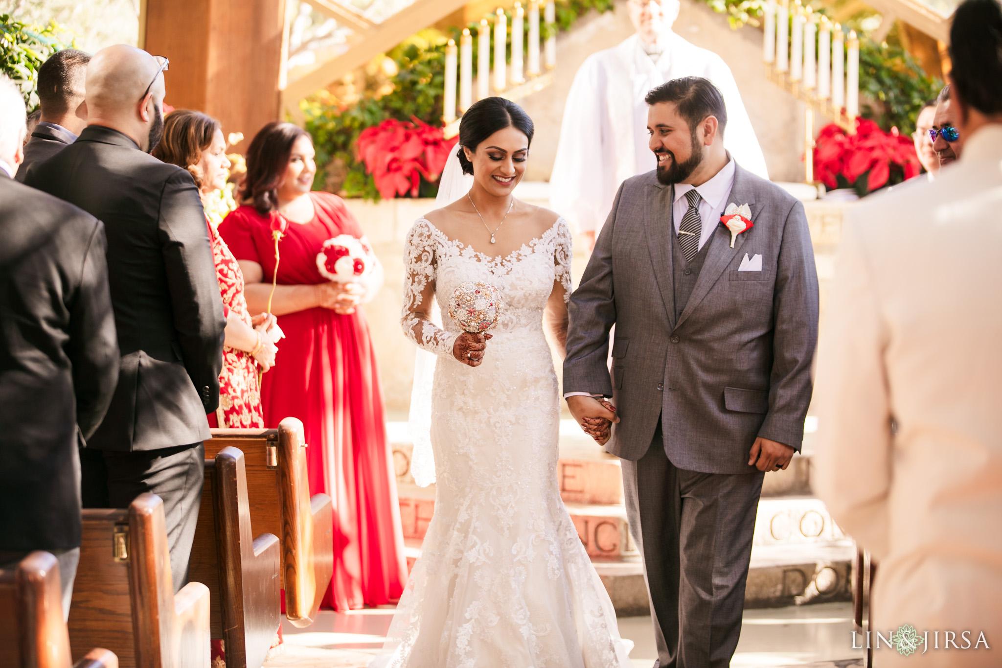 12 Wayfarers Chapel Palos Verdes Indian Wedding Photography