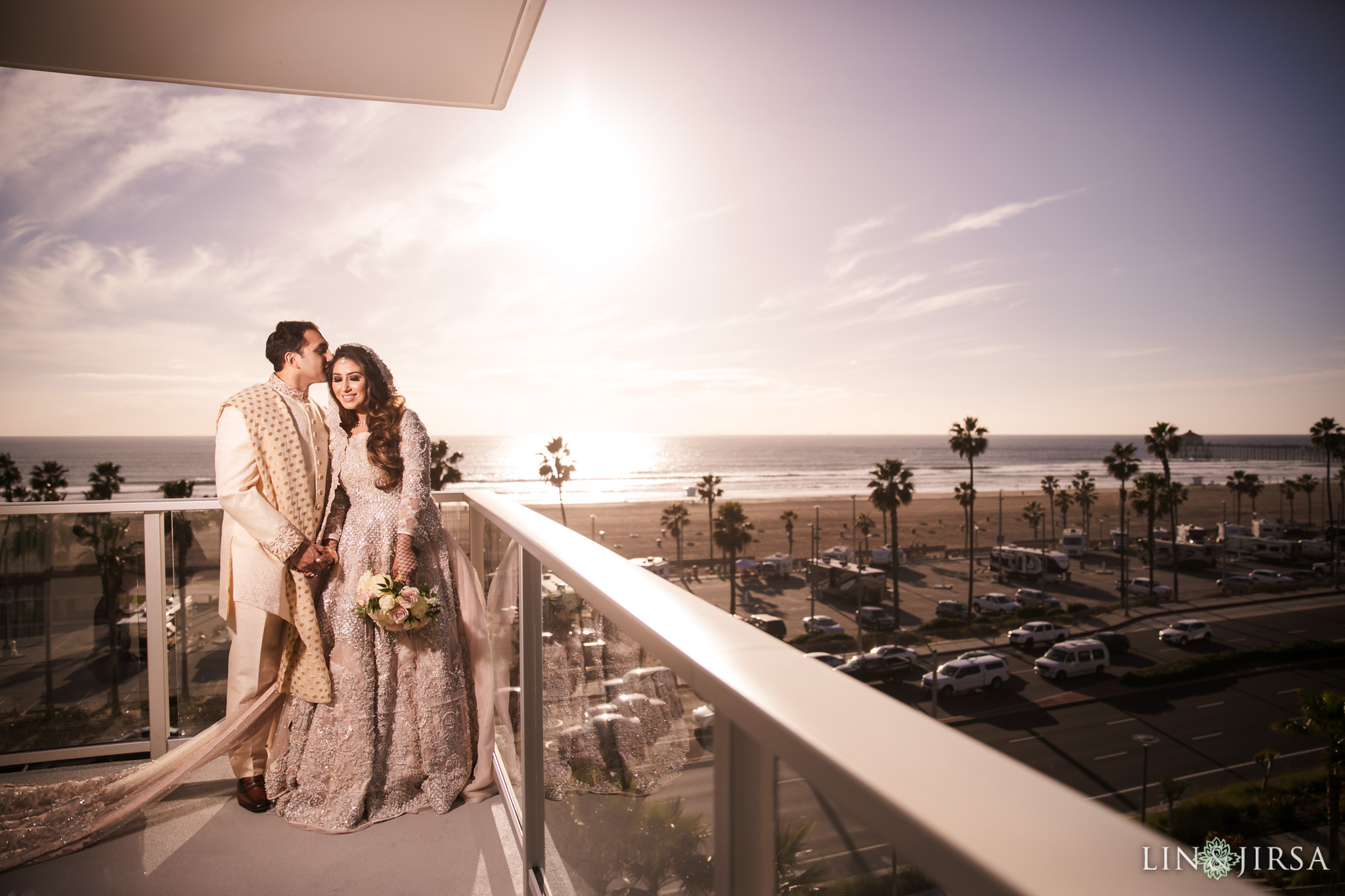 13 pasea hotel spa huntington beach pakistani muslim wedding photography