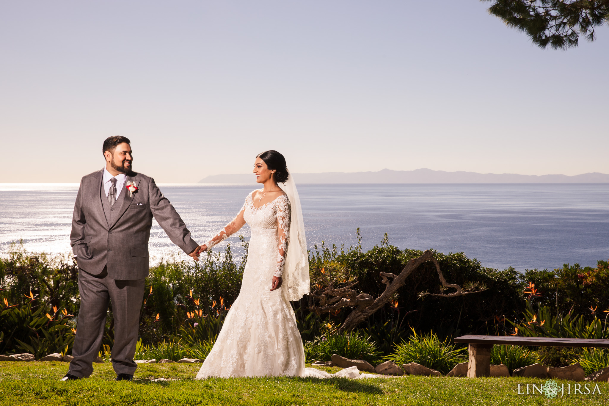 14 Wayfarers Chapel Palos Verdes Indian Wedding Photography