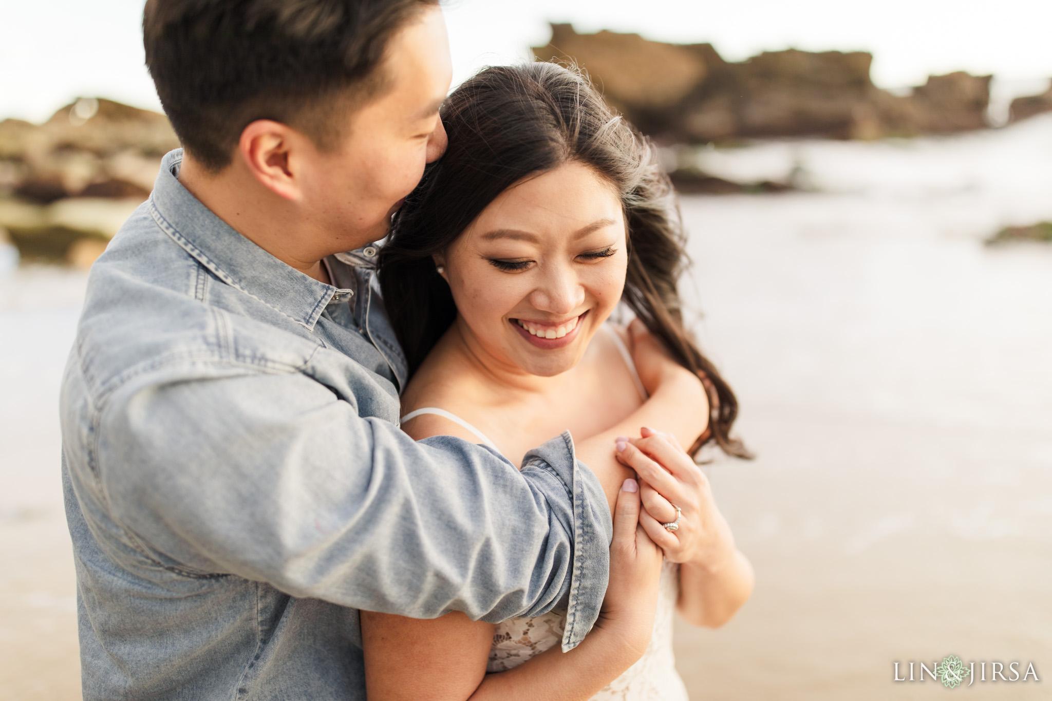 15 Heisler Park Laguna Beach Orange County Engagement Photography