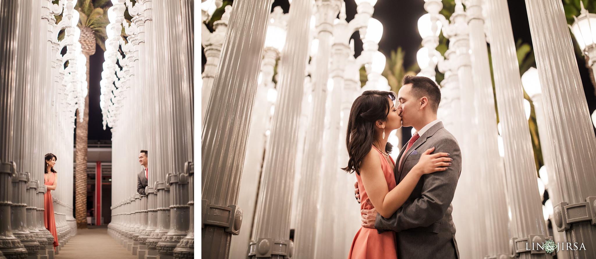17 LACMA los angeles engagement photography