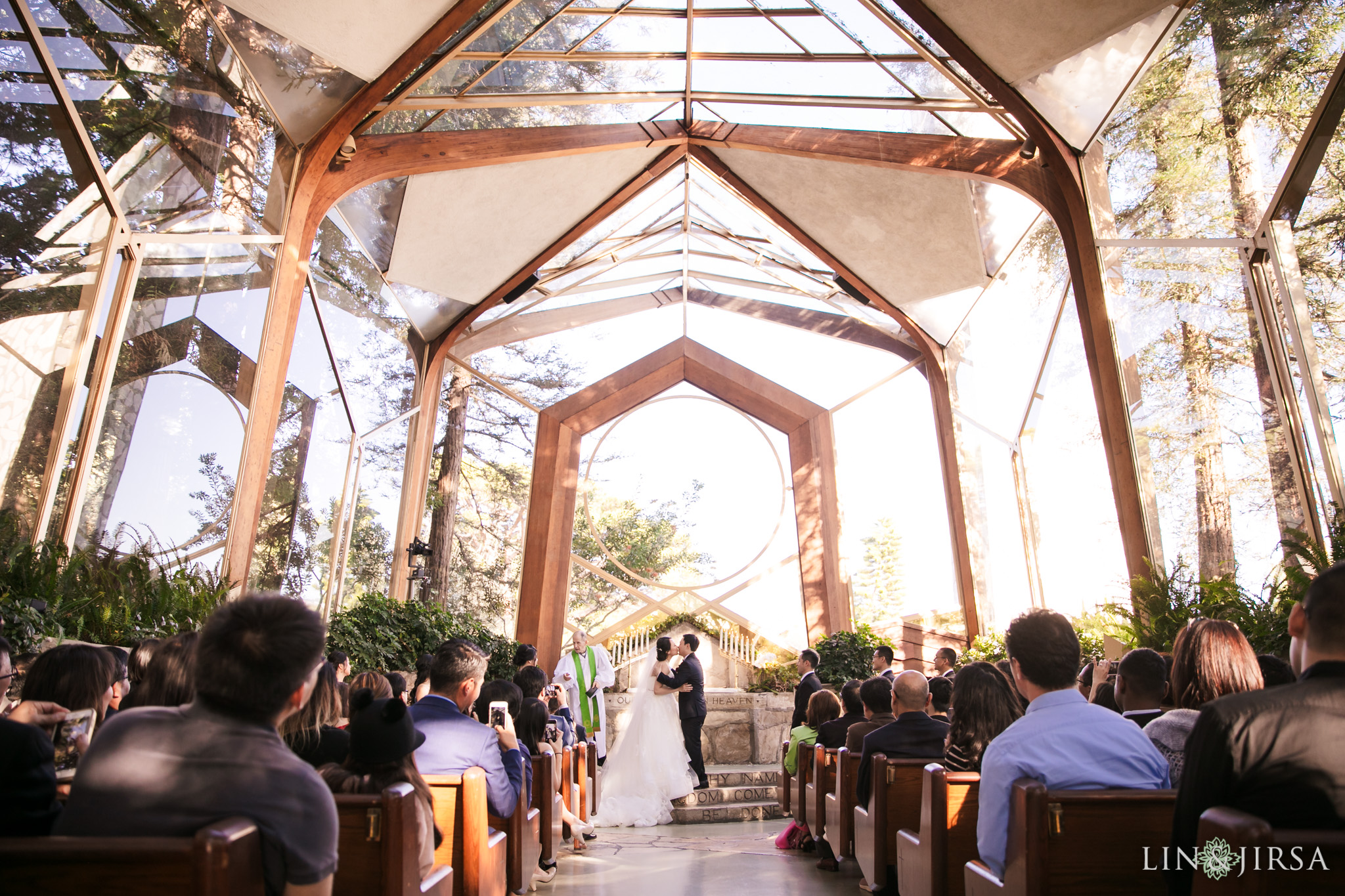 17 Wayfarers Chapel Wedding Ceremony Photography