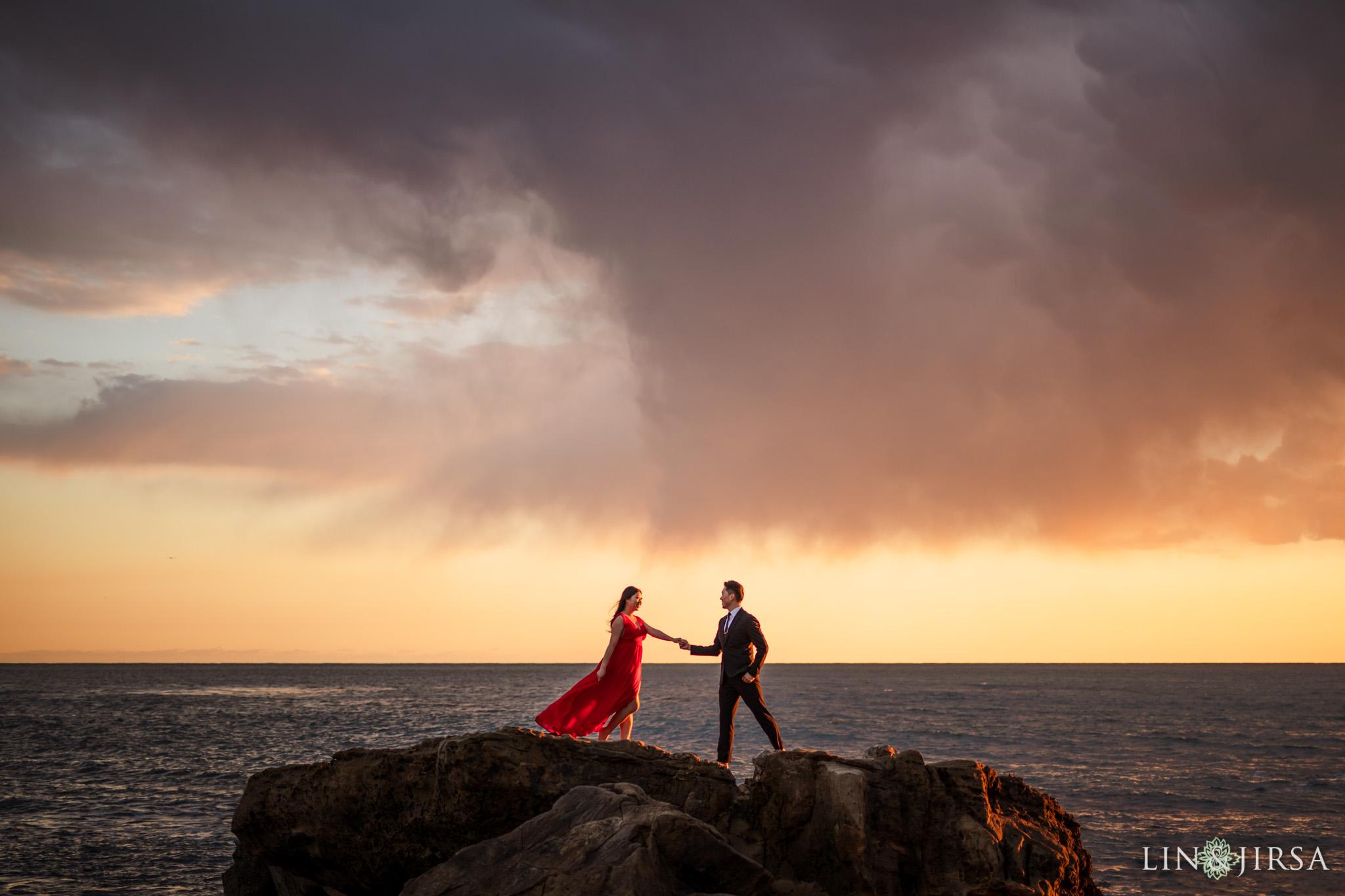 18 Heisler Park Laguna Beach Orange County Engagement Photography
