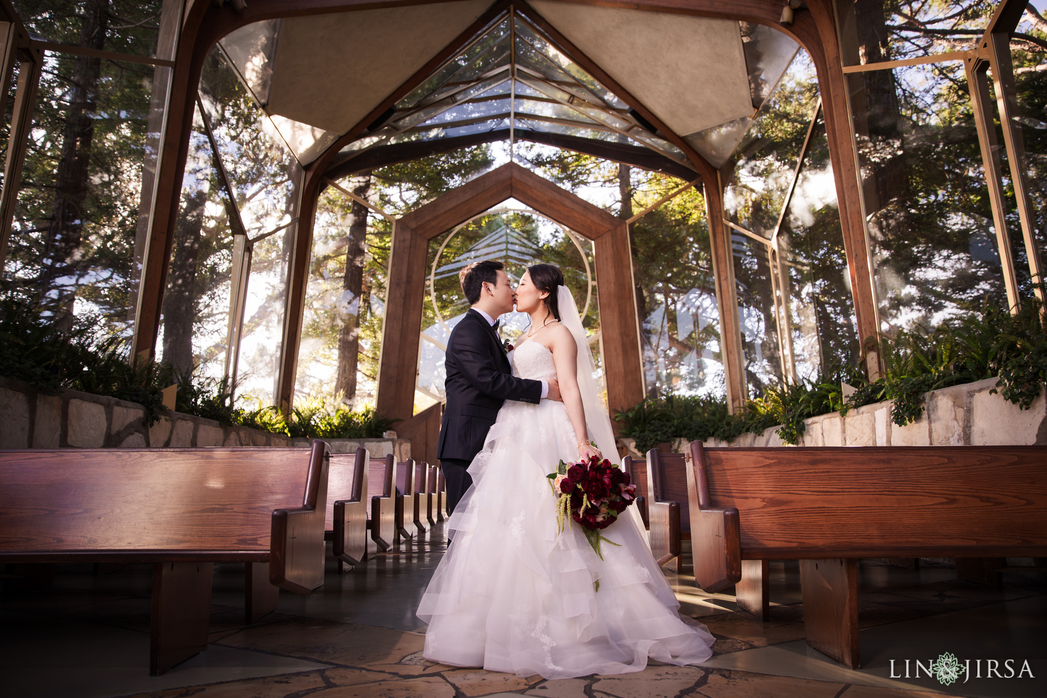 18 Wayfarers Chapel Wedding Ceremony Photography