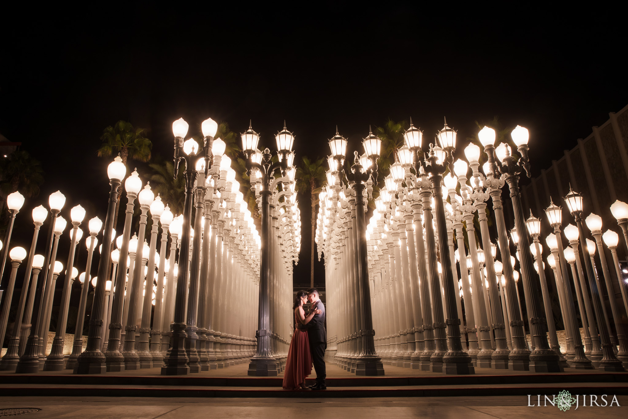 18 urban lights LACMA los angeles engagement photography