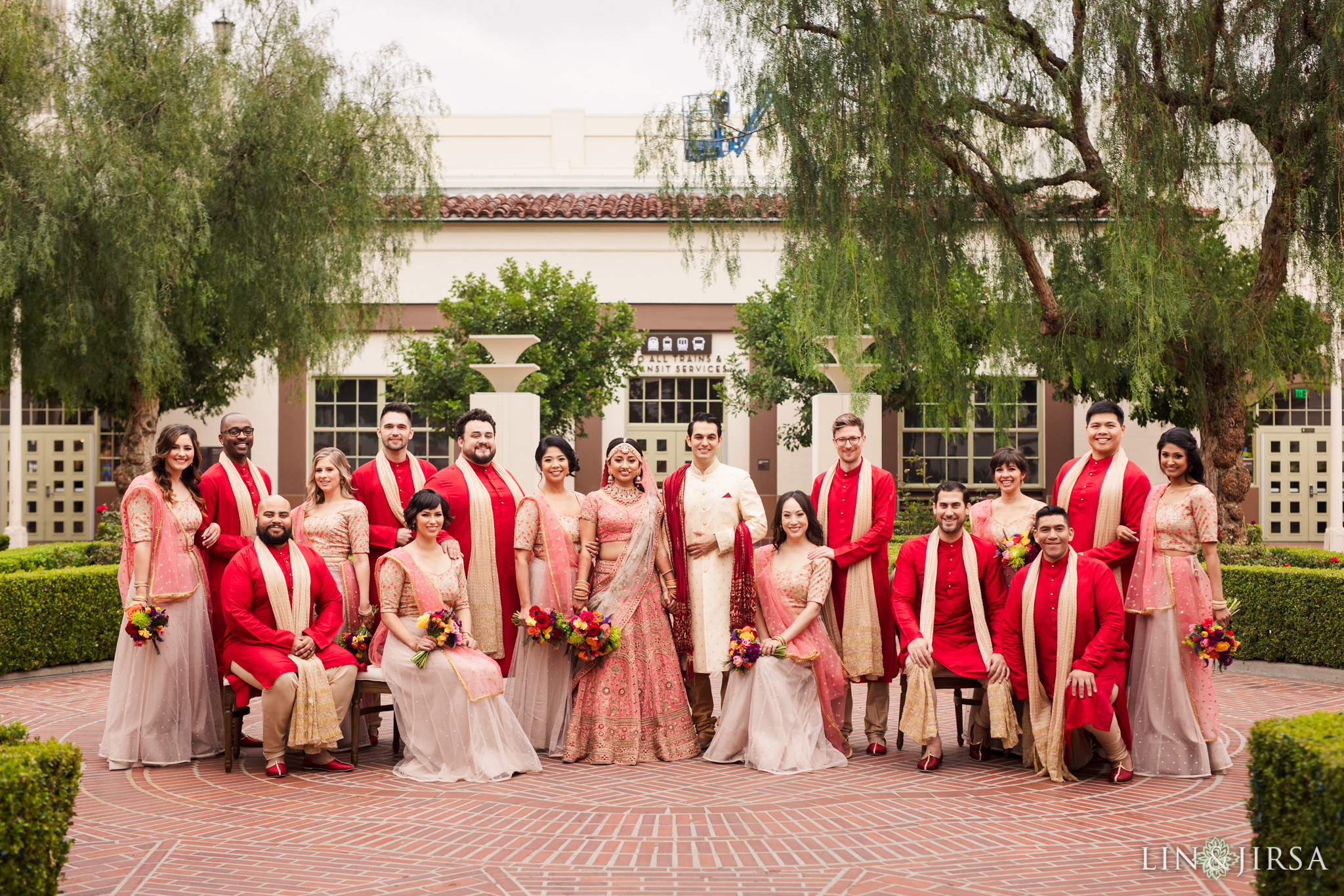 19 Union Station Los Angeles Indian Wedding Photography